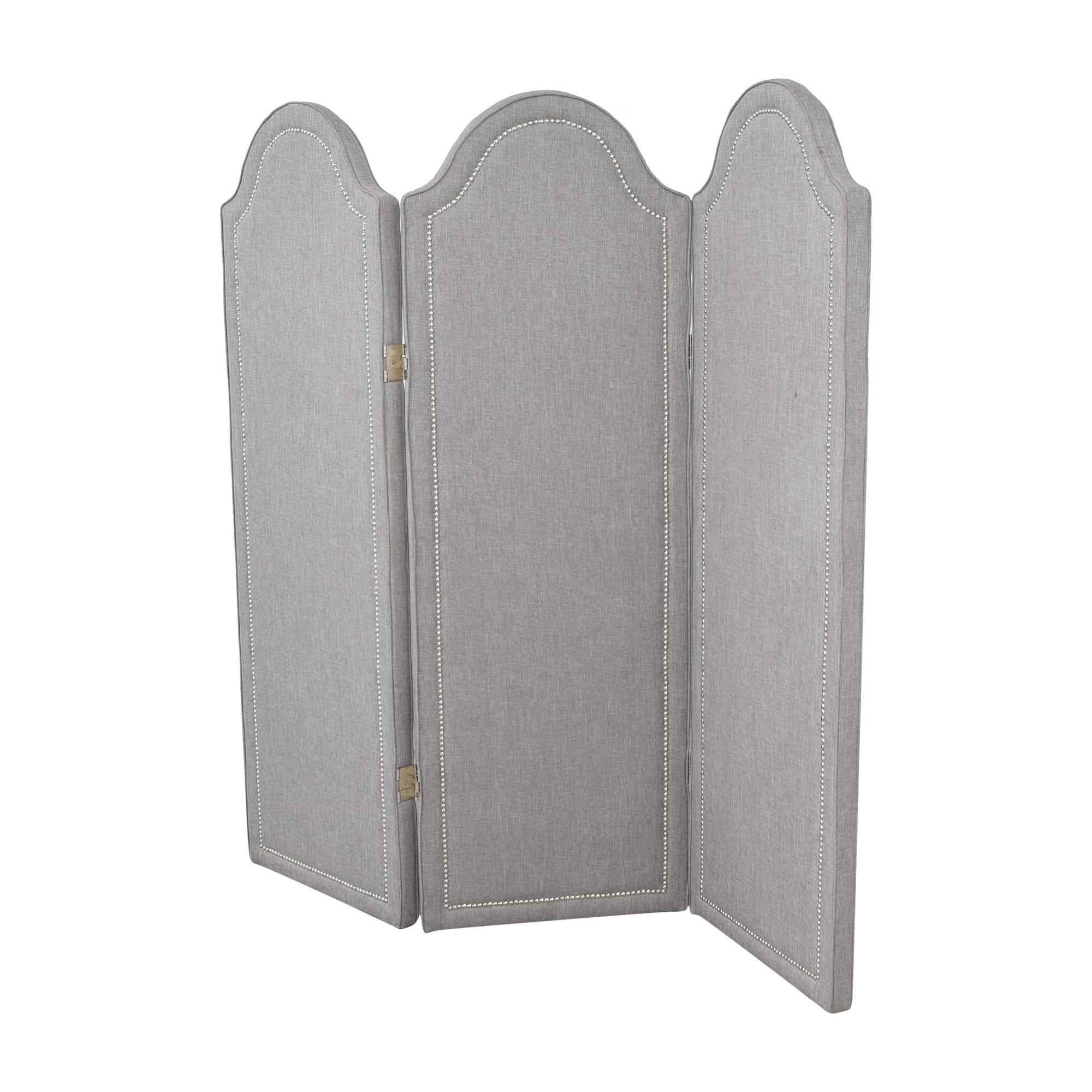 buy Custom Three Panel Folding Screen  Decor
