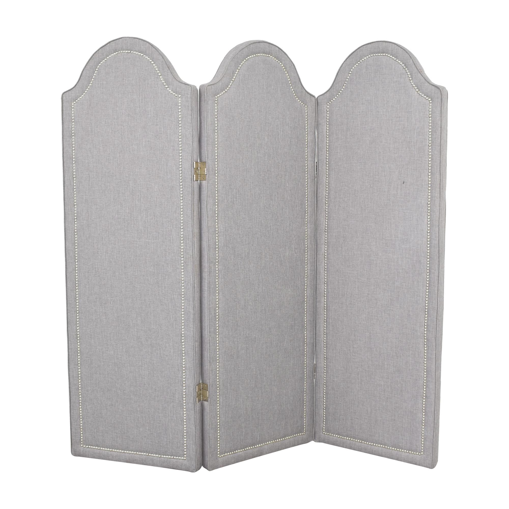 Custom Three Panel Folding Screen ct