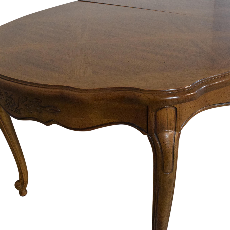 Thomasville Oval Extendable Dining Table Thomasville