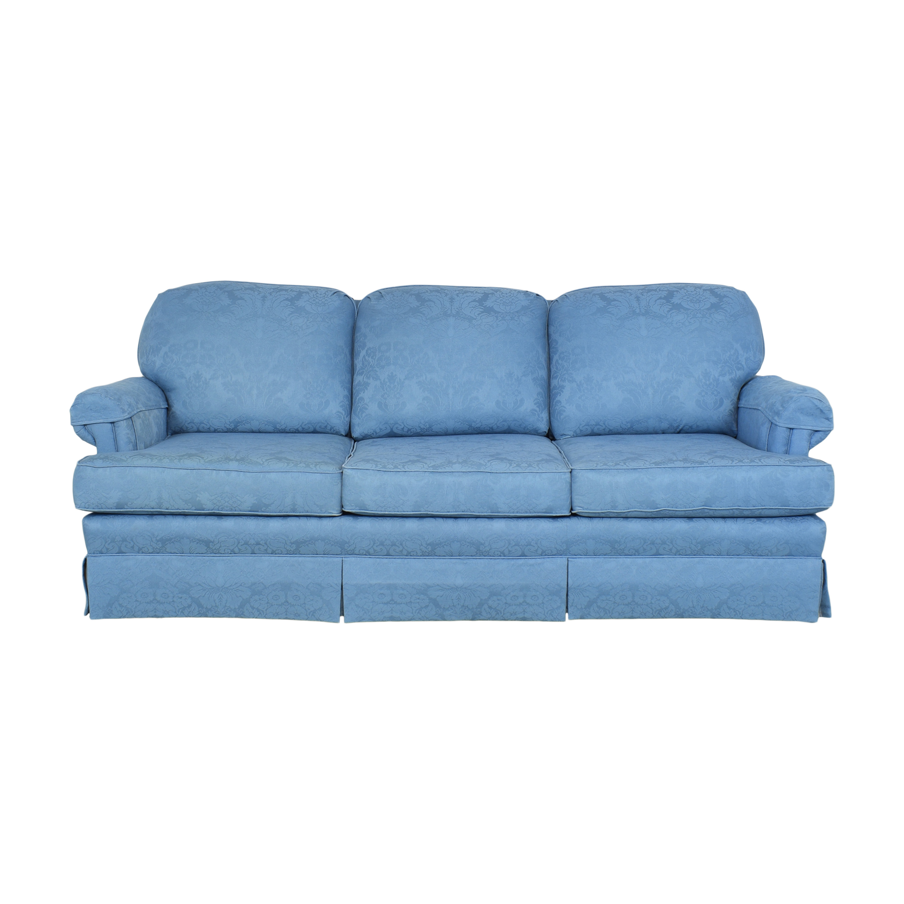 Norwalk Furniture Norwalk Three Cushion Sofa blue