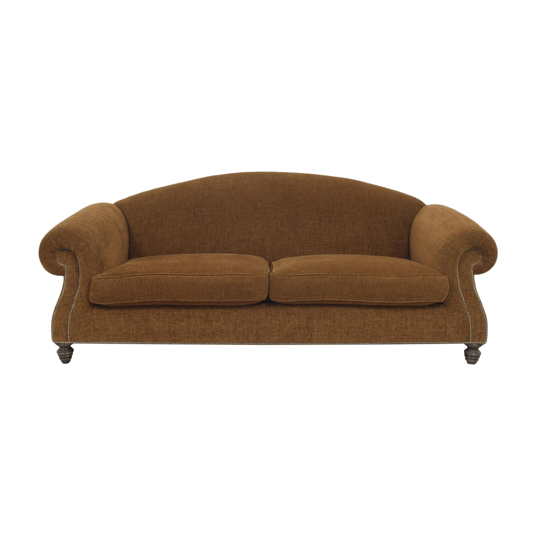 shop Custom Roll Arm Sofa  Sofas