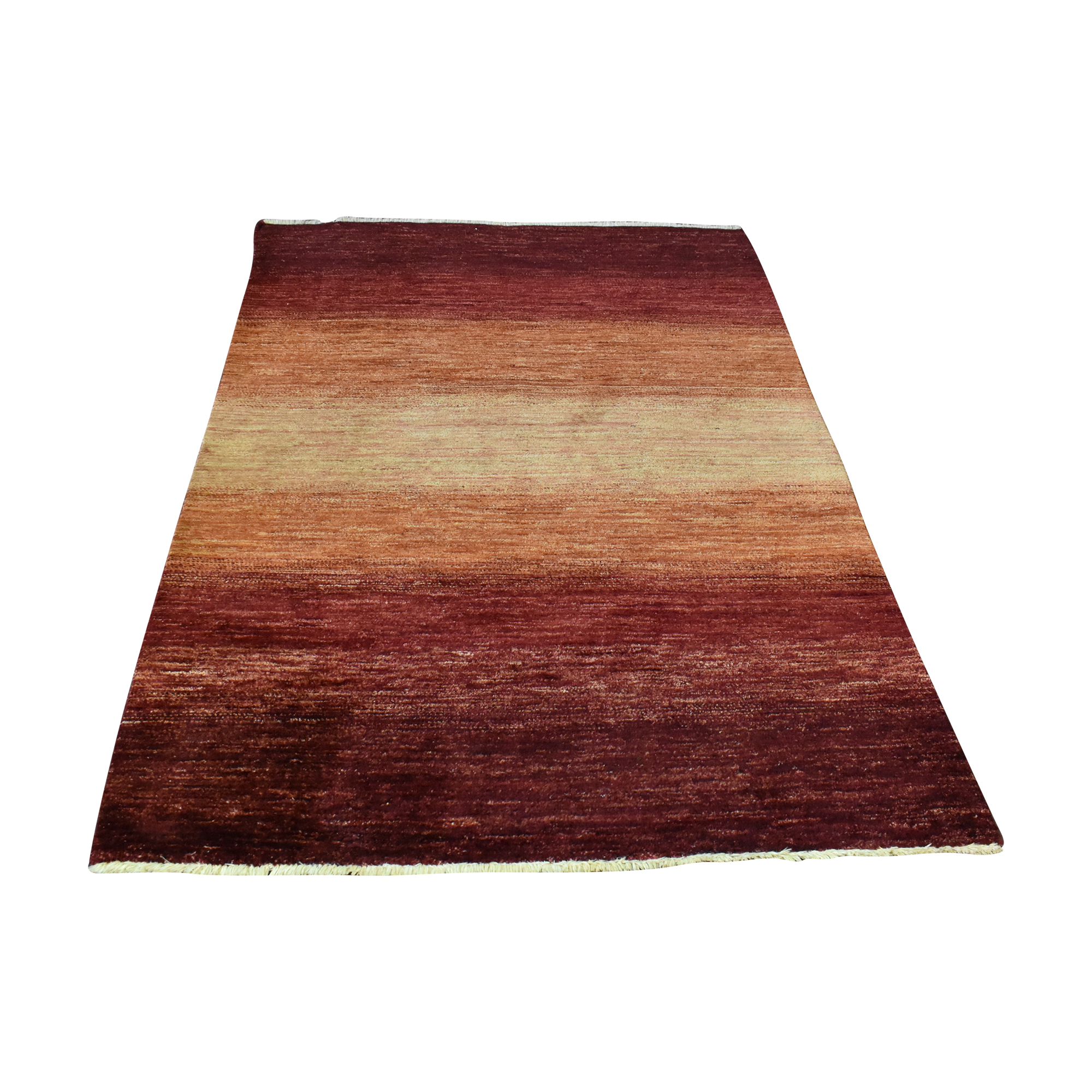 ABC Carpet & Home Striped Red Area Rug ABC Carpet & Home