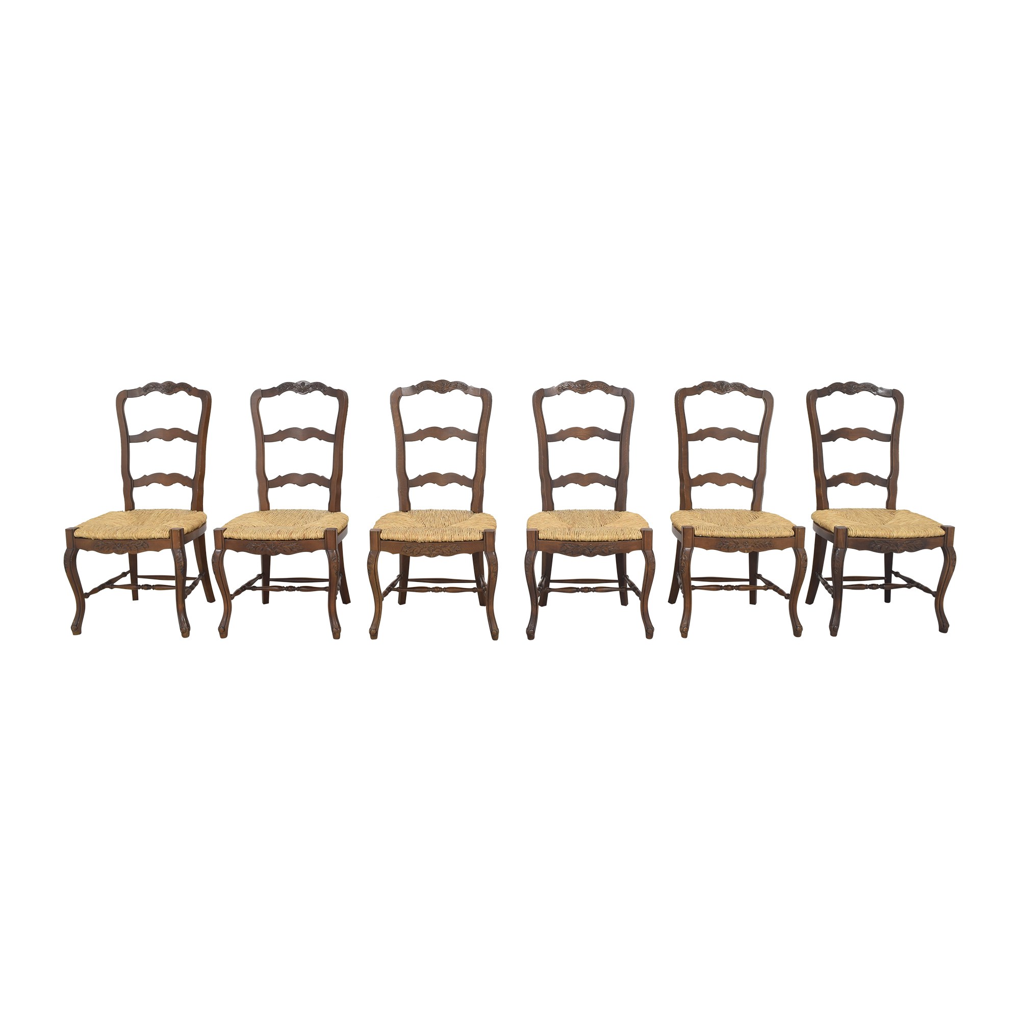 buy French-Style Ladderback Dining Chairs