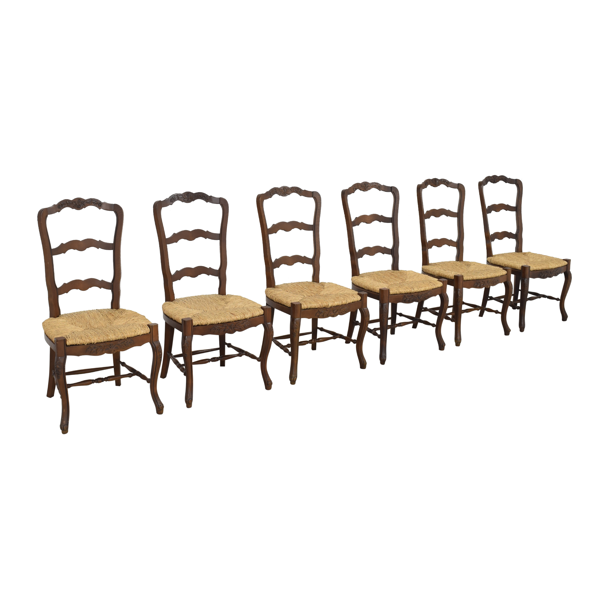 French-Style Ladderback Dining Chairs / Dining Chairs