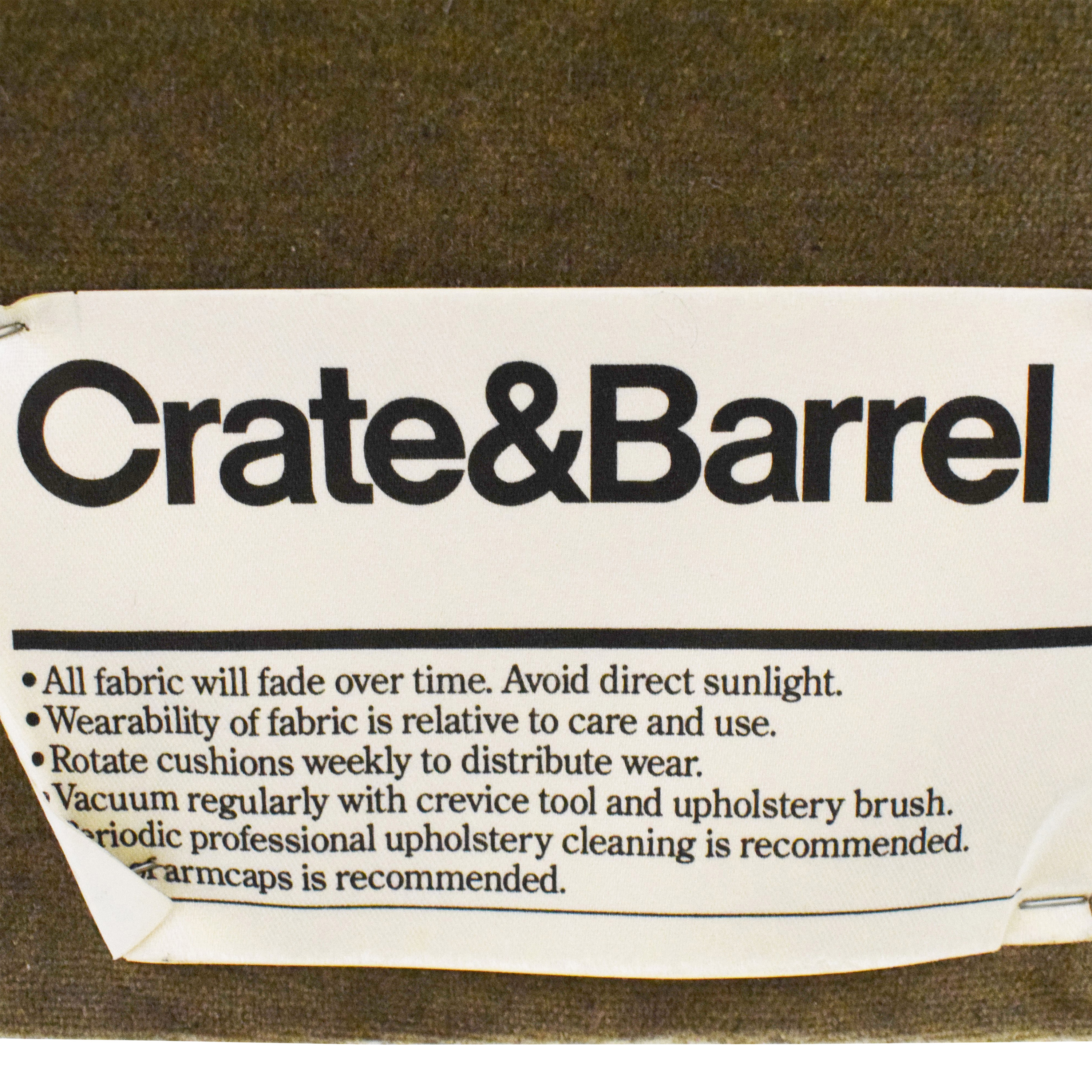 Crate & Barrel Archer Queen Bed / Bed Frames