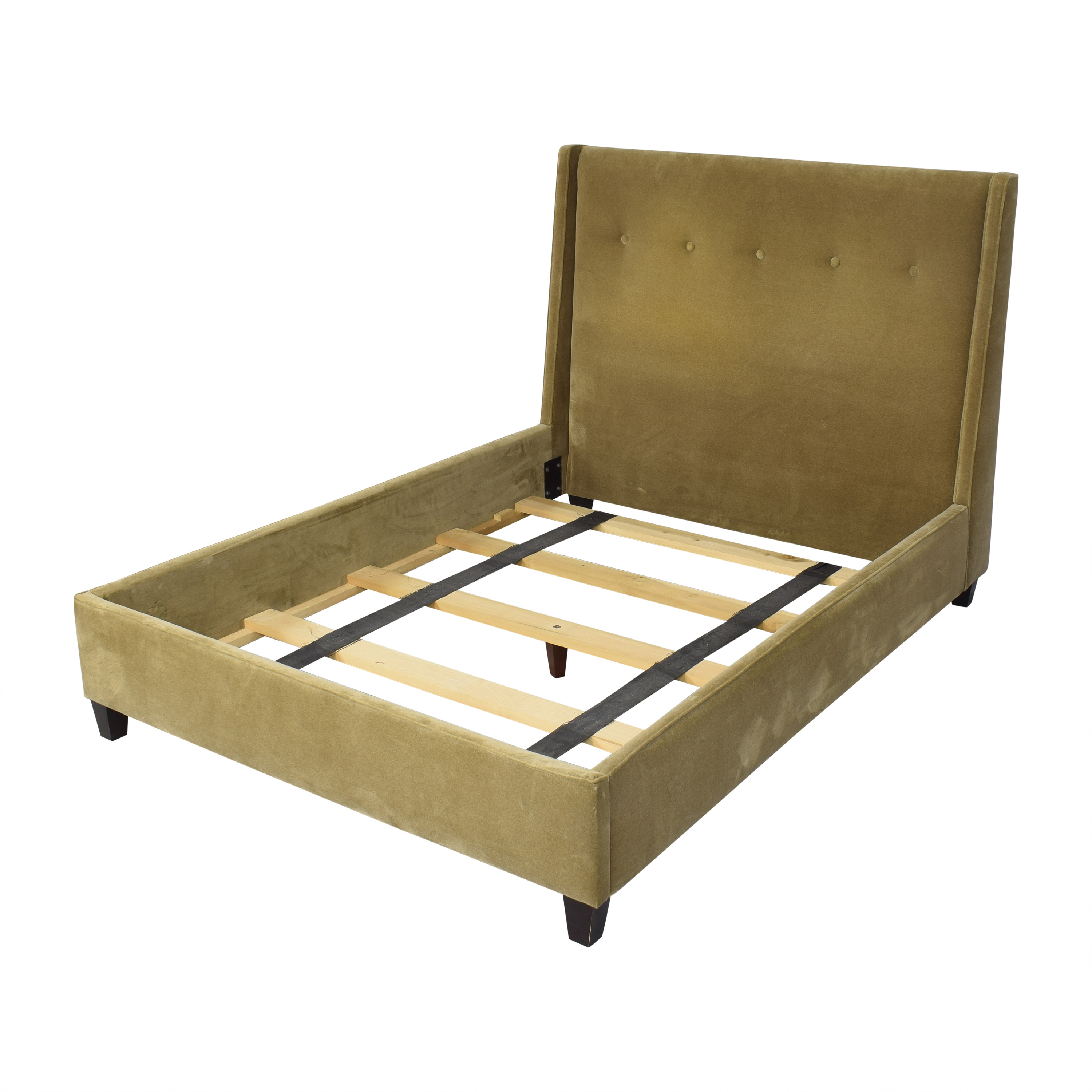 buy Crate & Barrel Archer Queen Bed Crate & Barrel Bed Frames