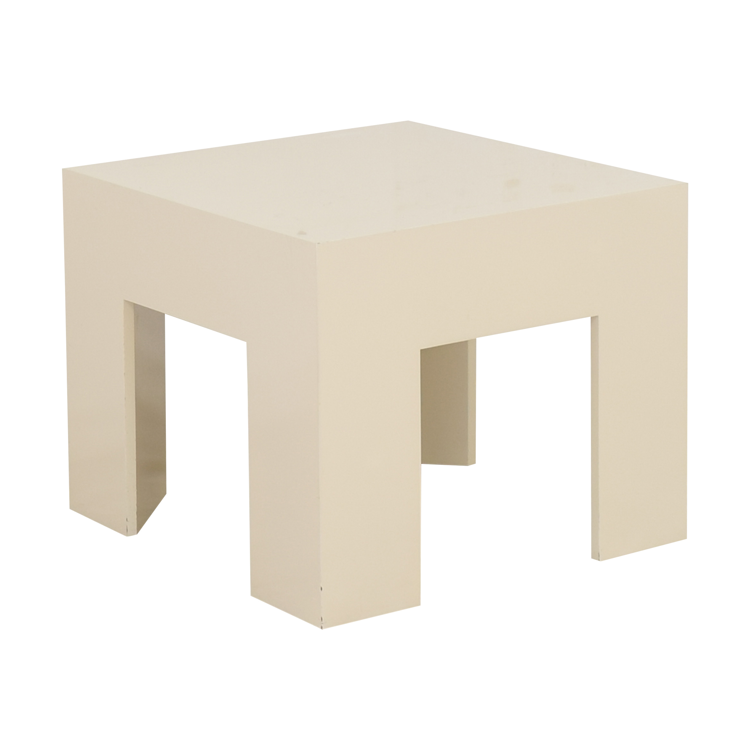 Square Accent Table second hand