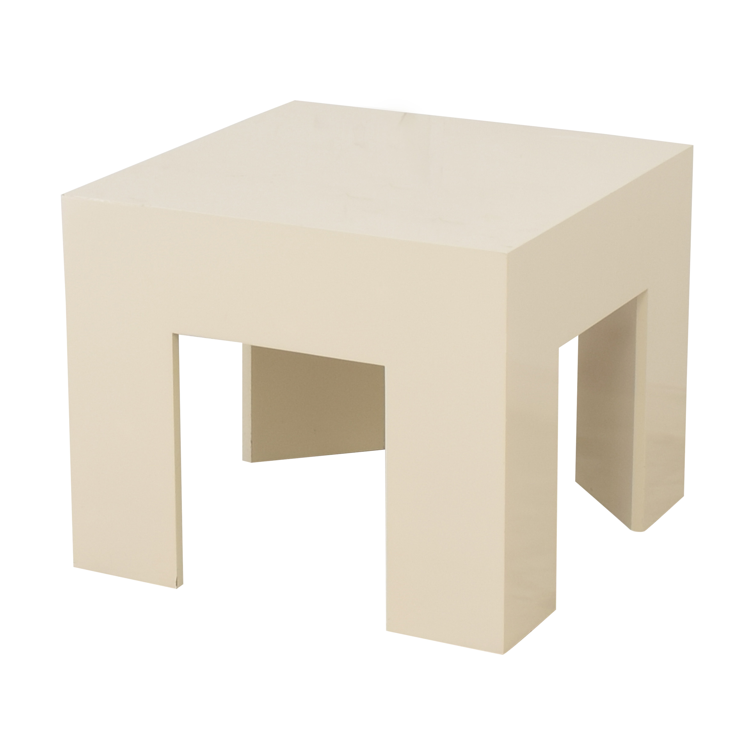 Square Accent Table used
