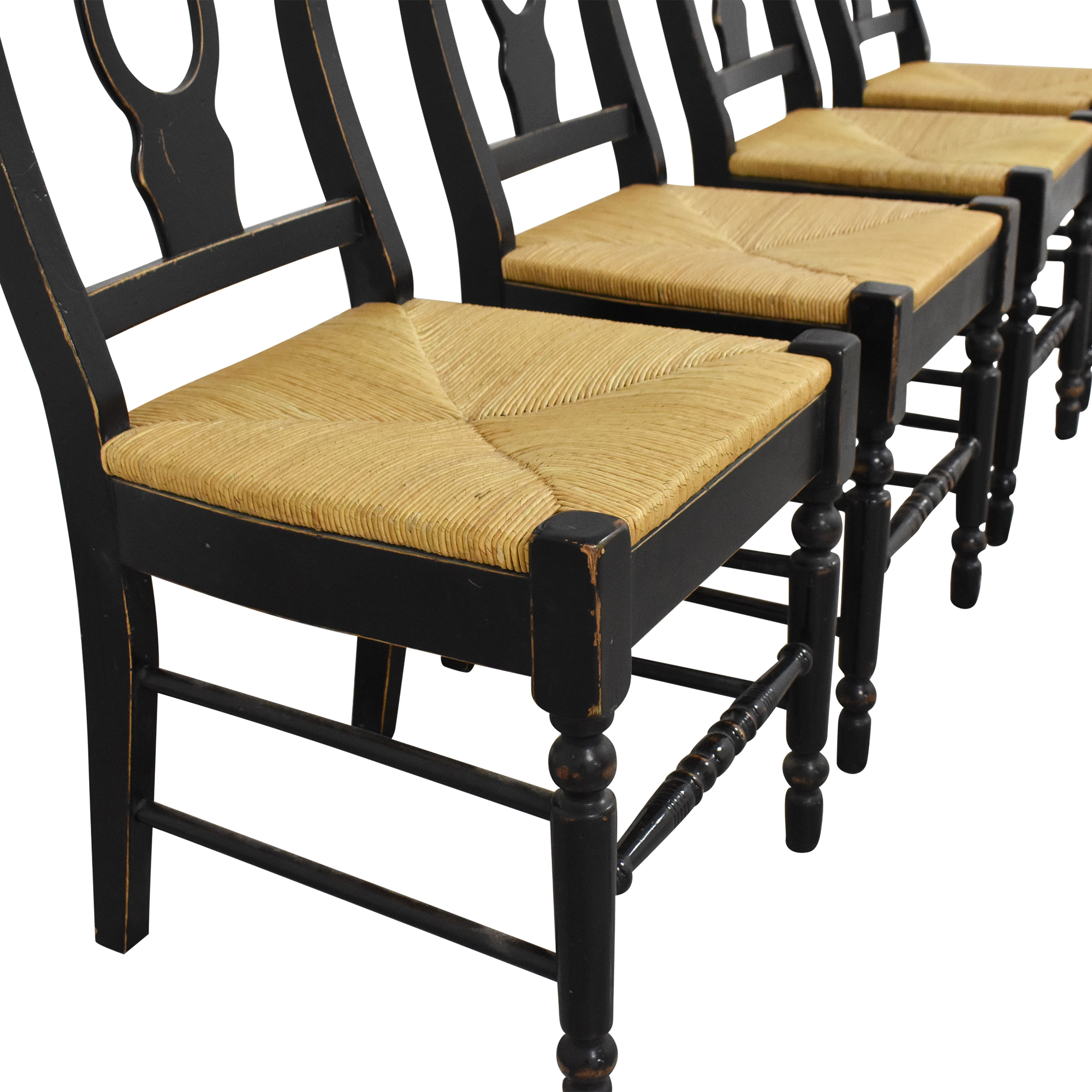 Country-Style Dining Chairs second hand