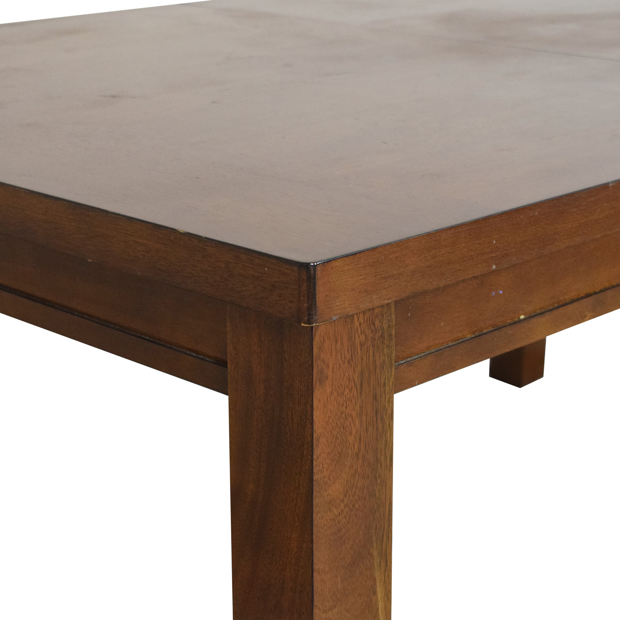 Macy's Extendable Rectangle Dining Table Macy's