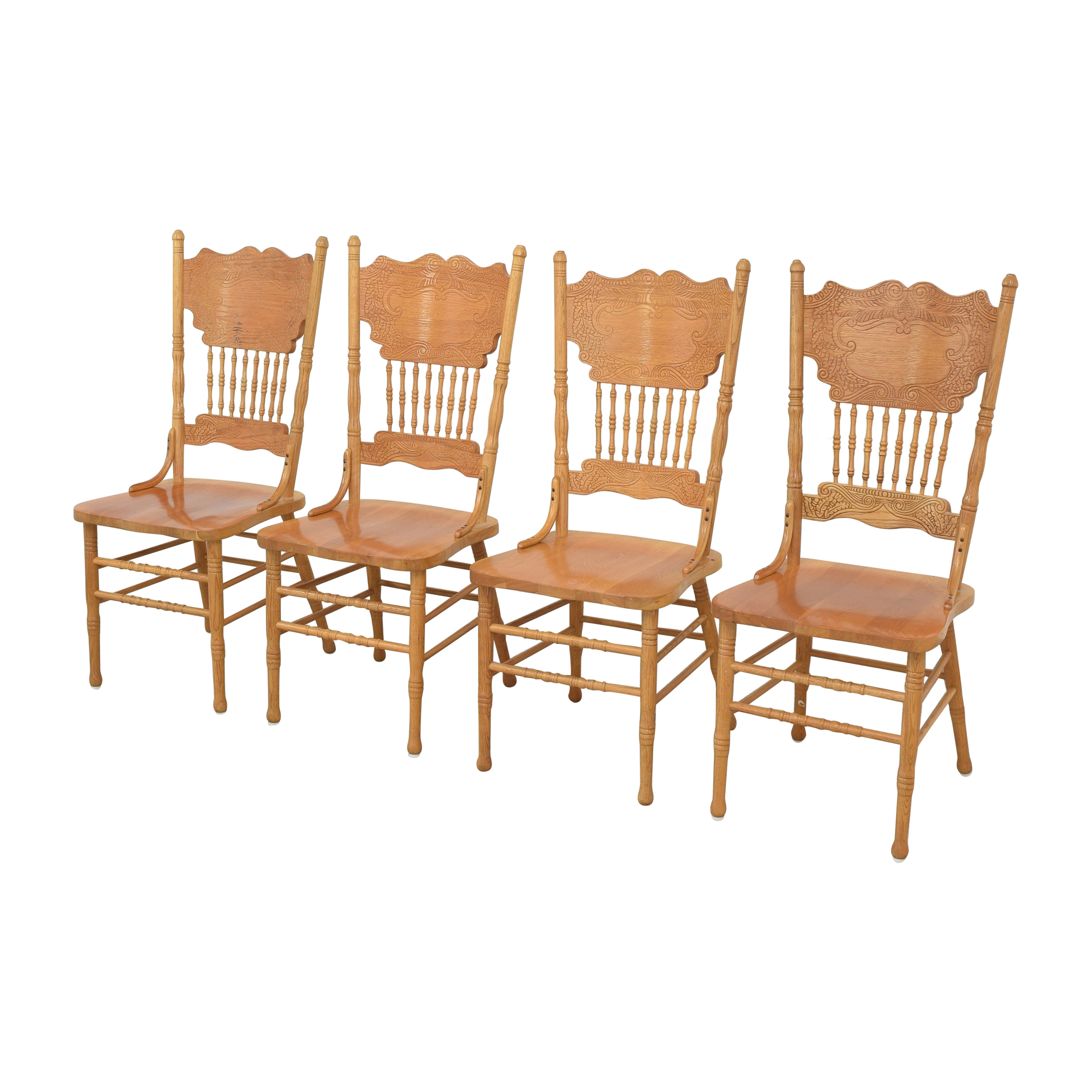 shop A-America Wood Carved Dining Chairs A-America Wood Furniture