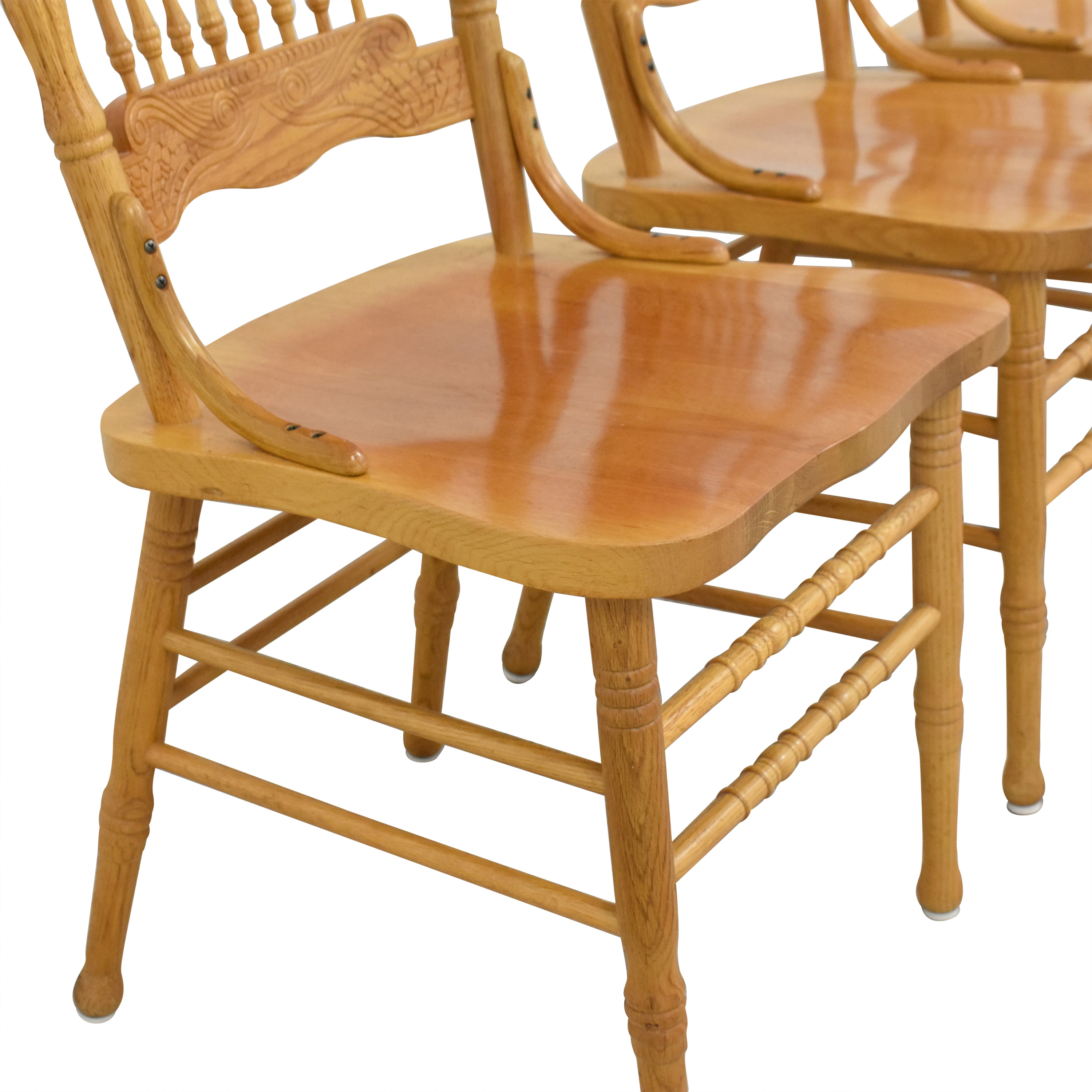A-America Wood Carved Dining Chairs A-America Wood Furniture