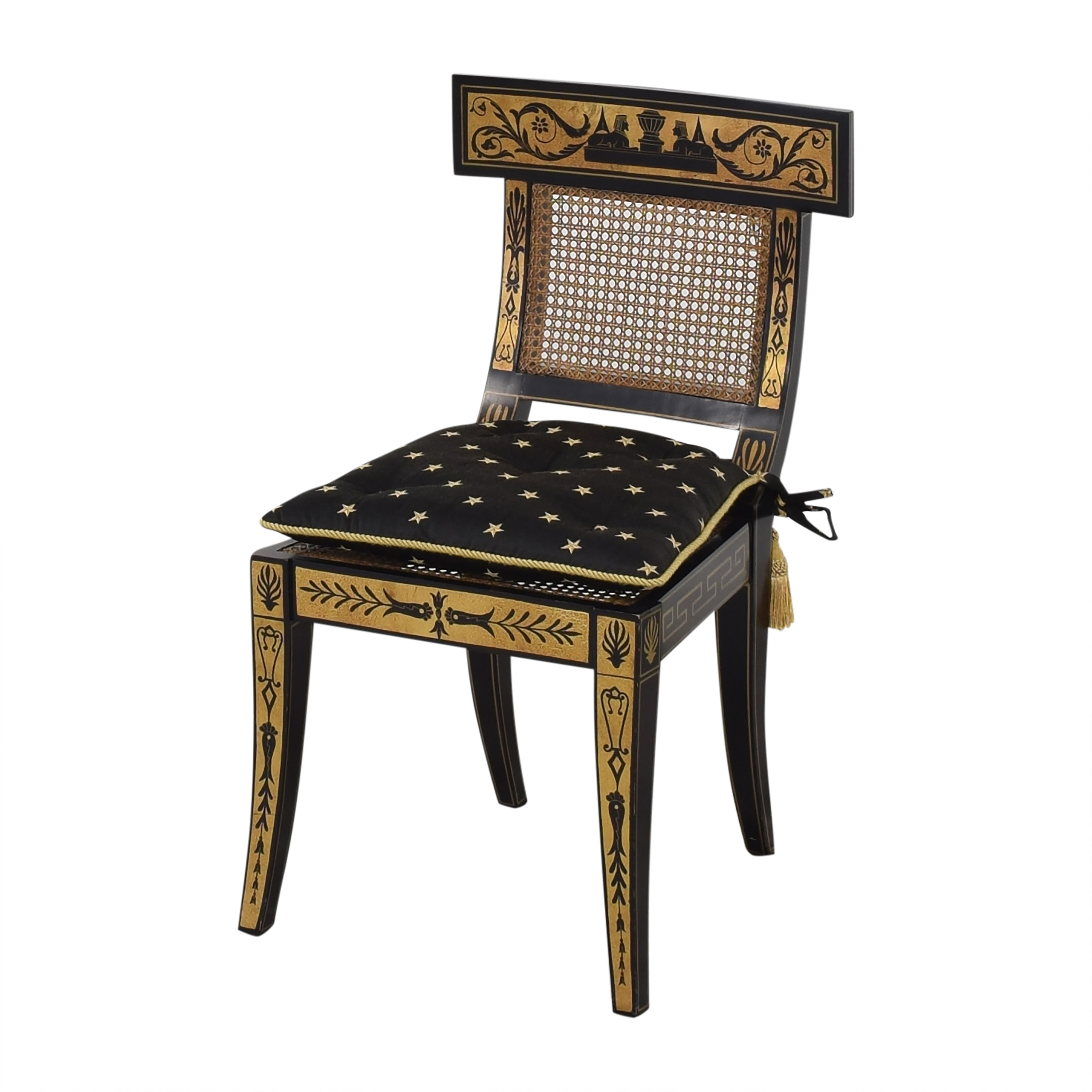 buy Maitland-Smith Maitland-Smith Decorative Dining Chairs with Cushions online