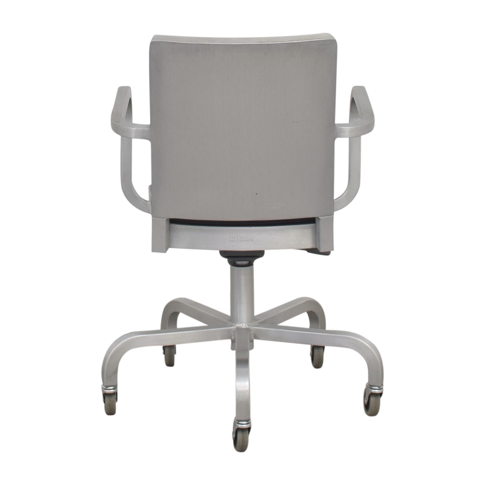 Emeco Hudson Swivel Armchair by Starck / Chairs