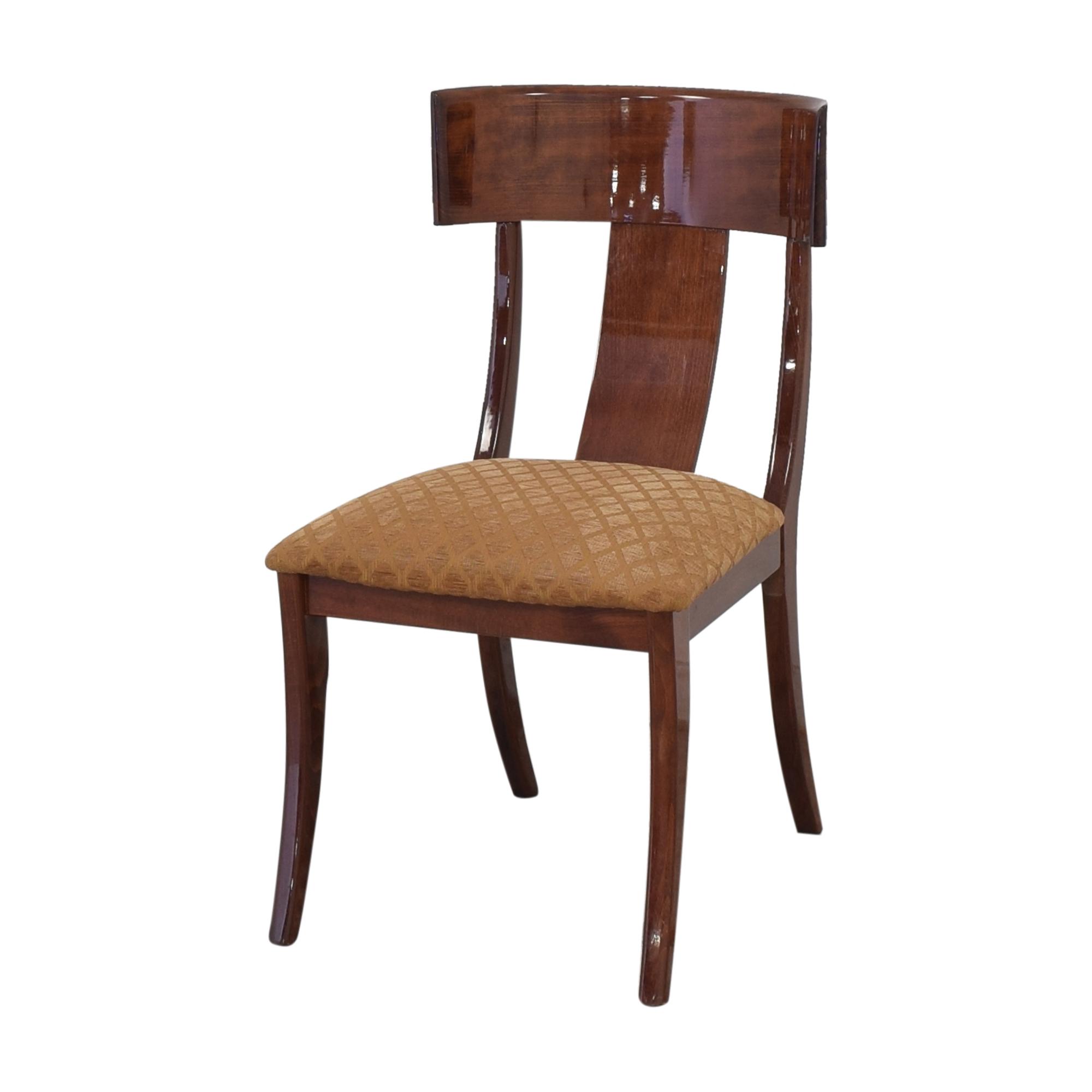 Ello Furniture Pietro Constantini for Ello Klismos Dining Chairs Dining Chairs
