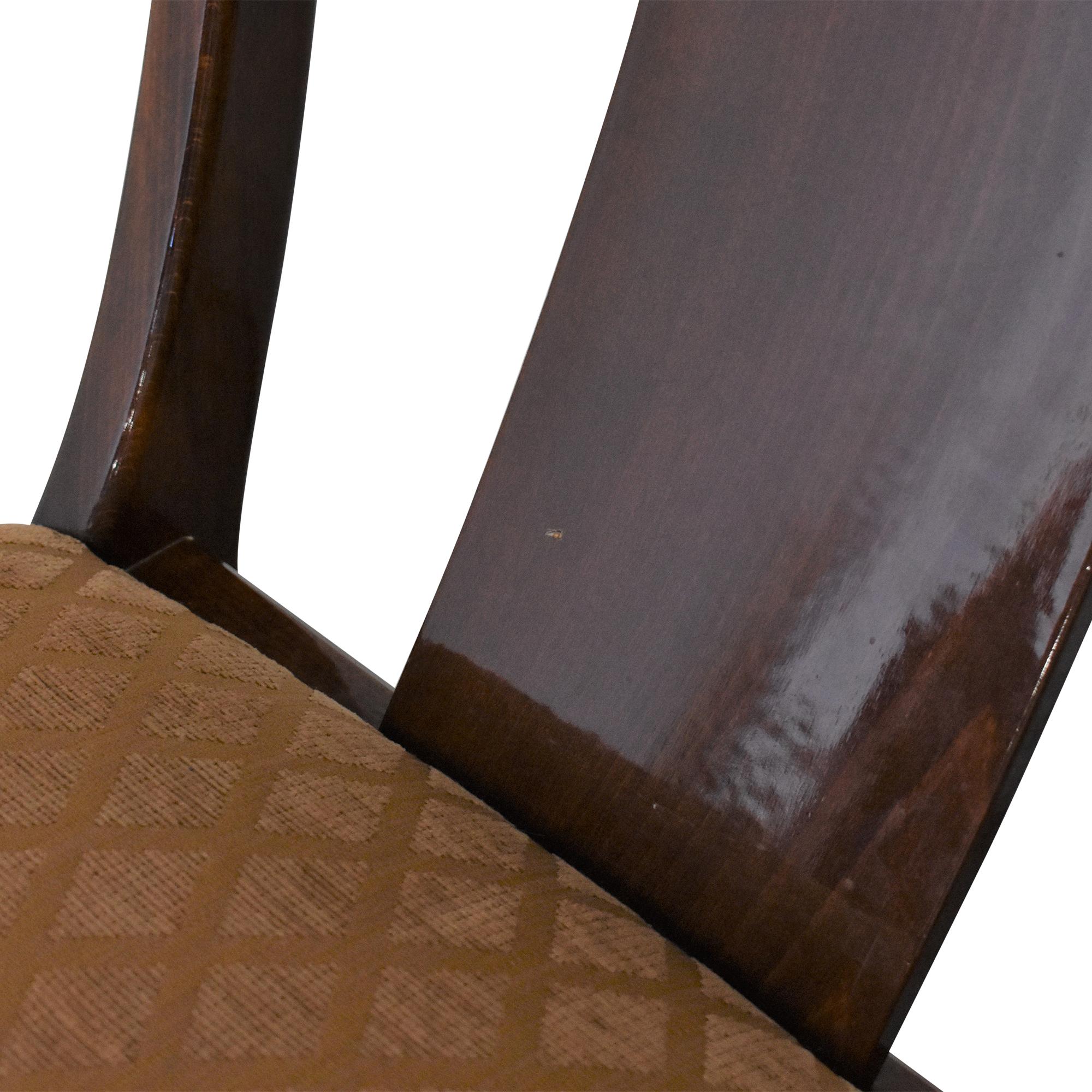 Ello Furniture Pietro Constantini for Ello Klismos Dining Chairs pa