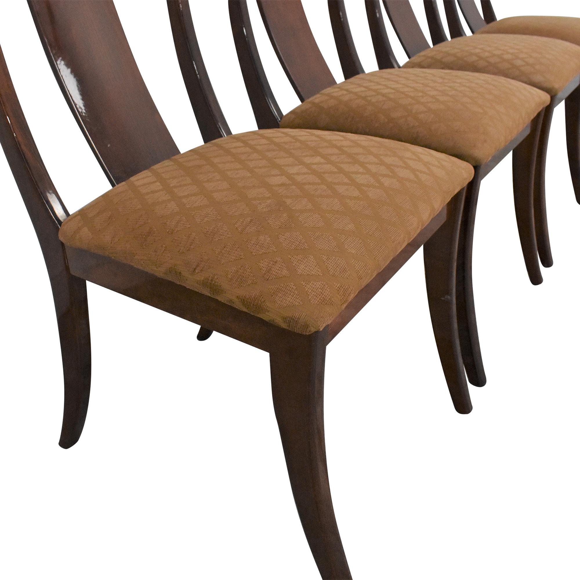 Ello Furniture Pietro Constantini for Ello Klismos Dining Chairs discount