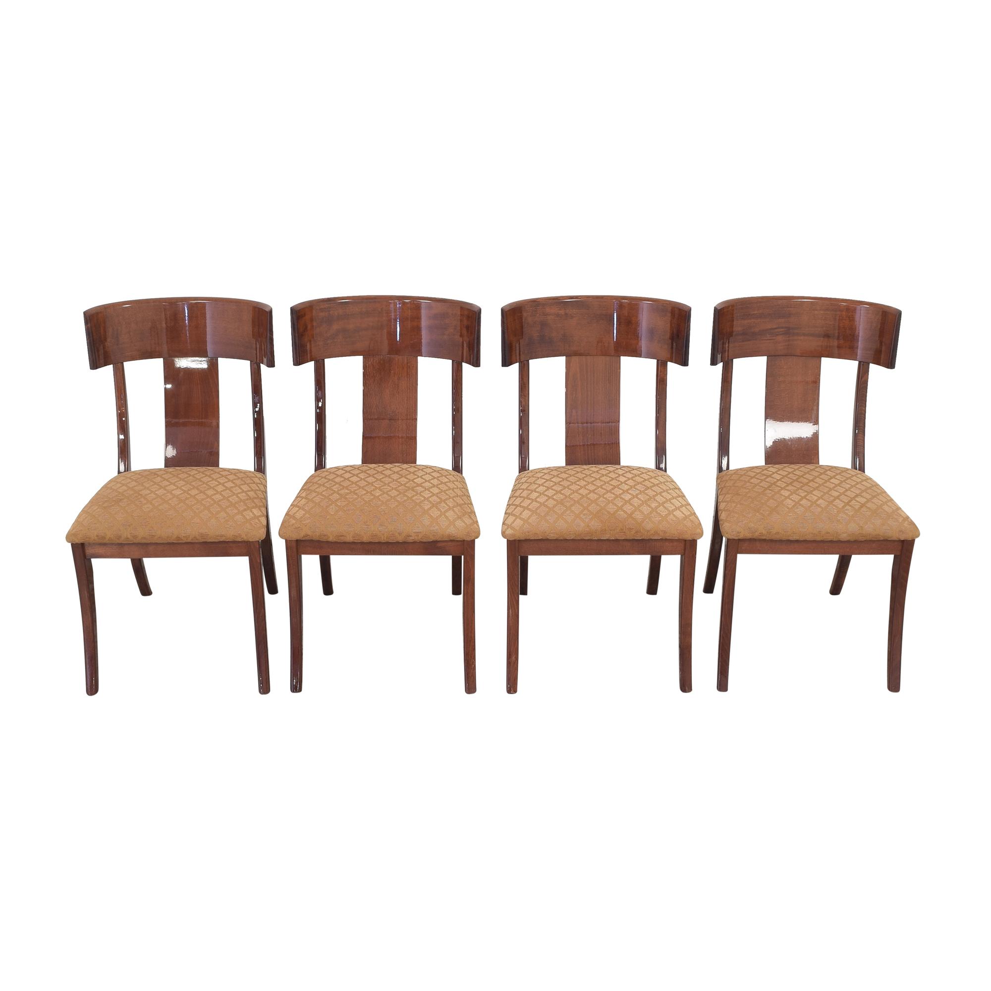 Ello Furniture Pietro Constantini for Ello Klismos Dining Chairs nj