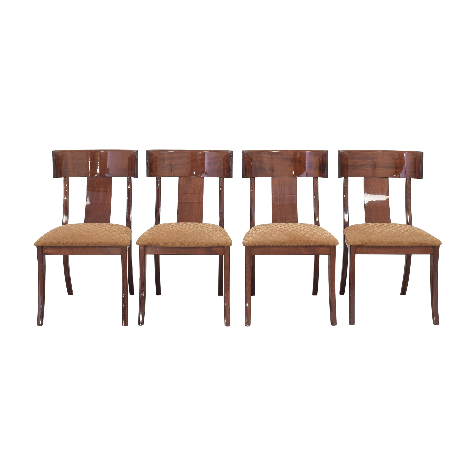 Ello Furniture Pietro Constantini for Ello Klismos Dining Chairs ma
