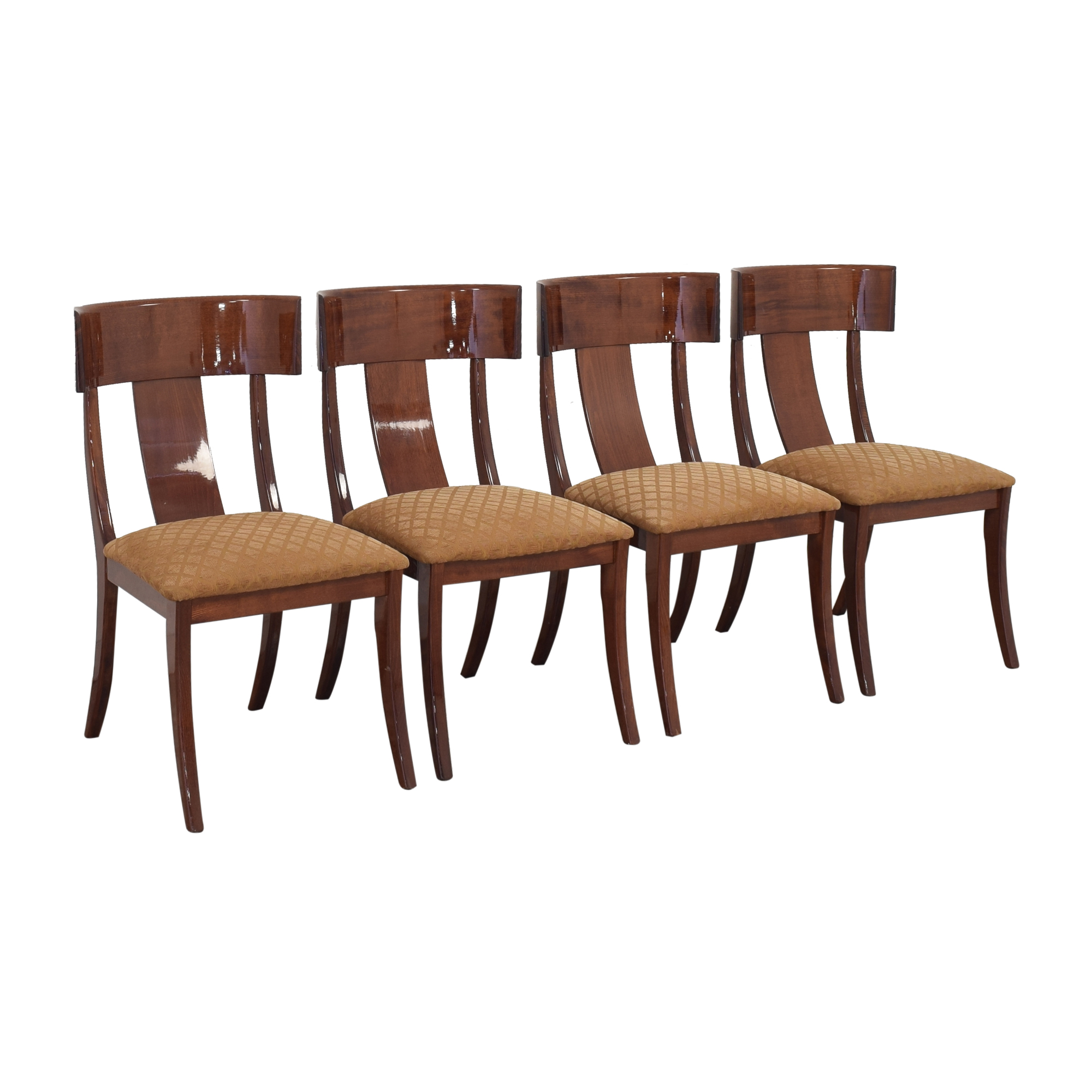 buy Pietro Constantini for Ello Klismos Dining Chairs Ello Furniture Chairs