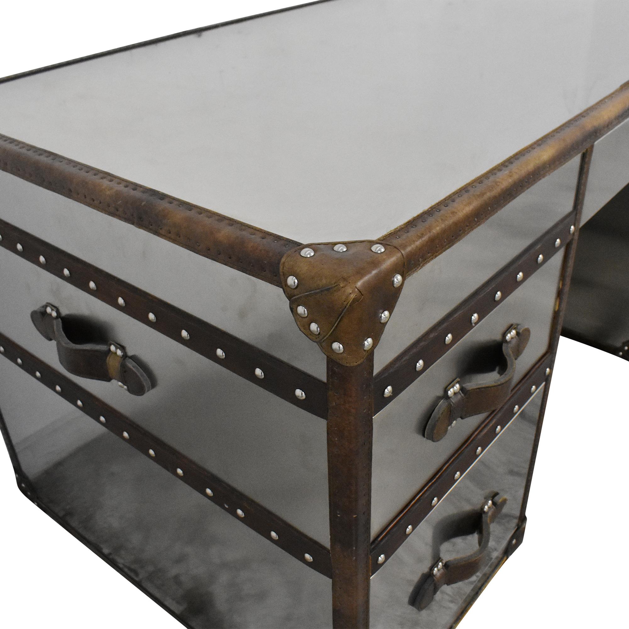 Restoration Hardware Restoration Hardware Mayfair Streamer Trunk Desk