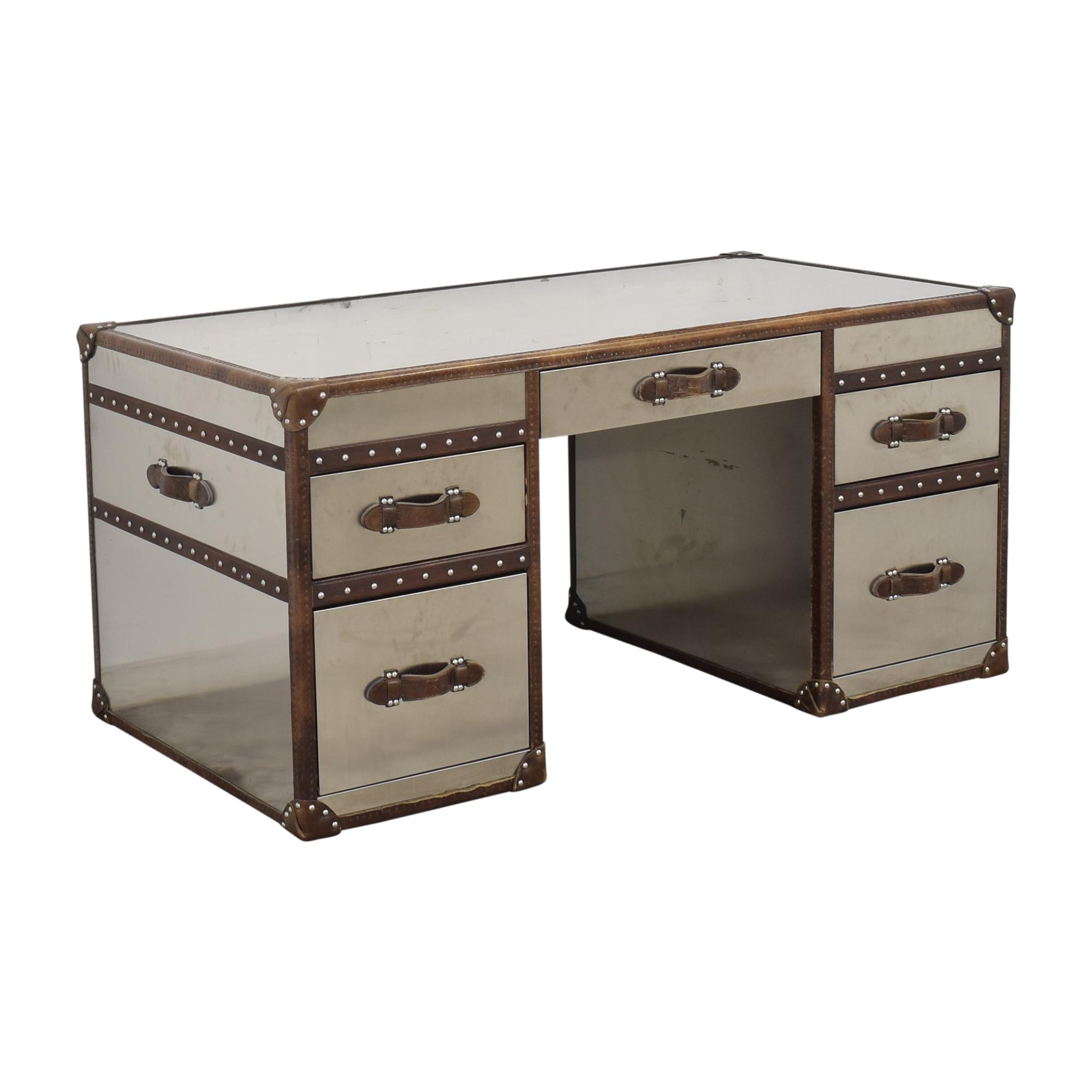 Restoration Hardware Restoration Hardware Mayfair Streamer Trunk Desk on sale