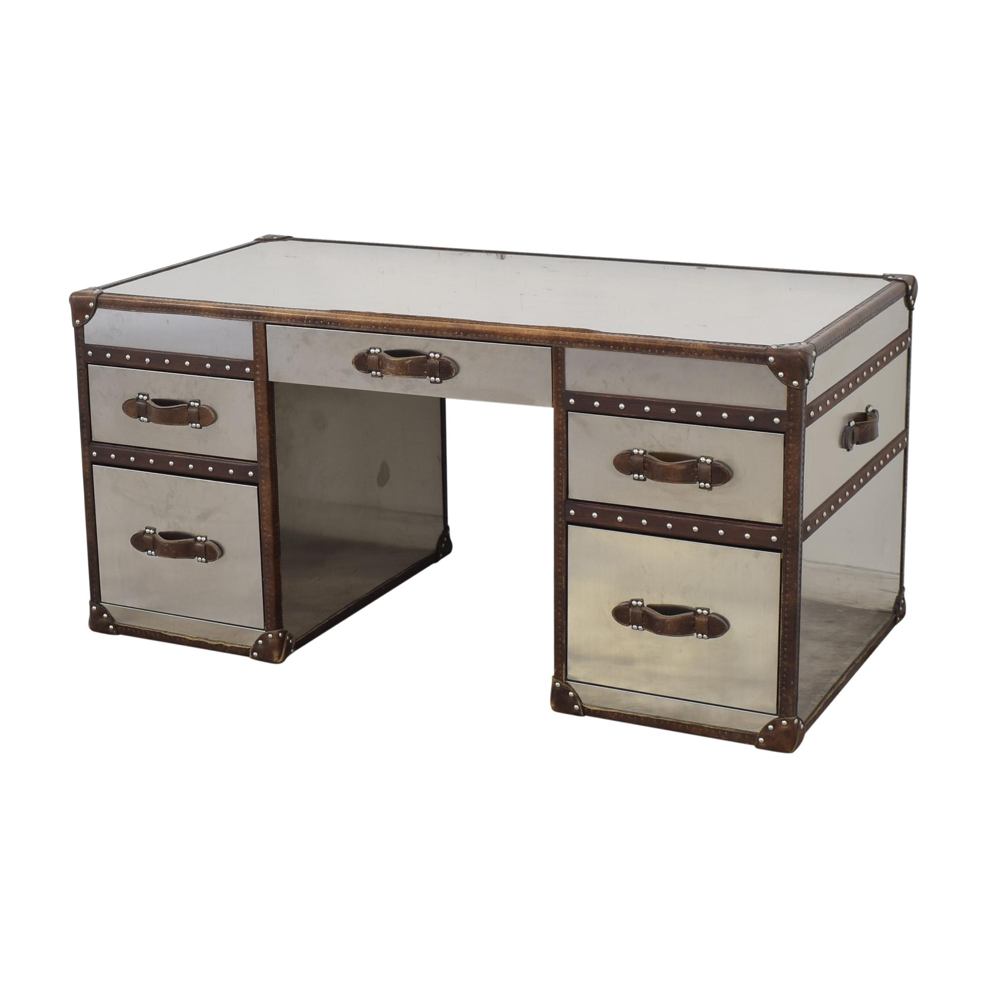 Restoration Hardware Restoration Hardware Mayfair Streamer Trunk Desk for sale
