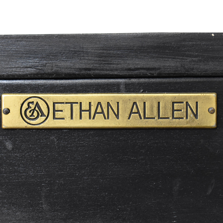 Ethan Allen Ethan Allen Vivianne Serpentine Console discount