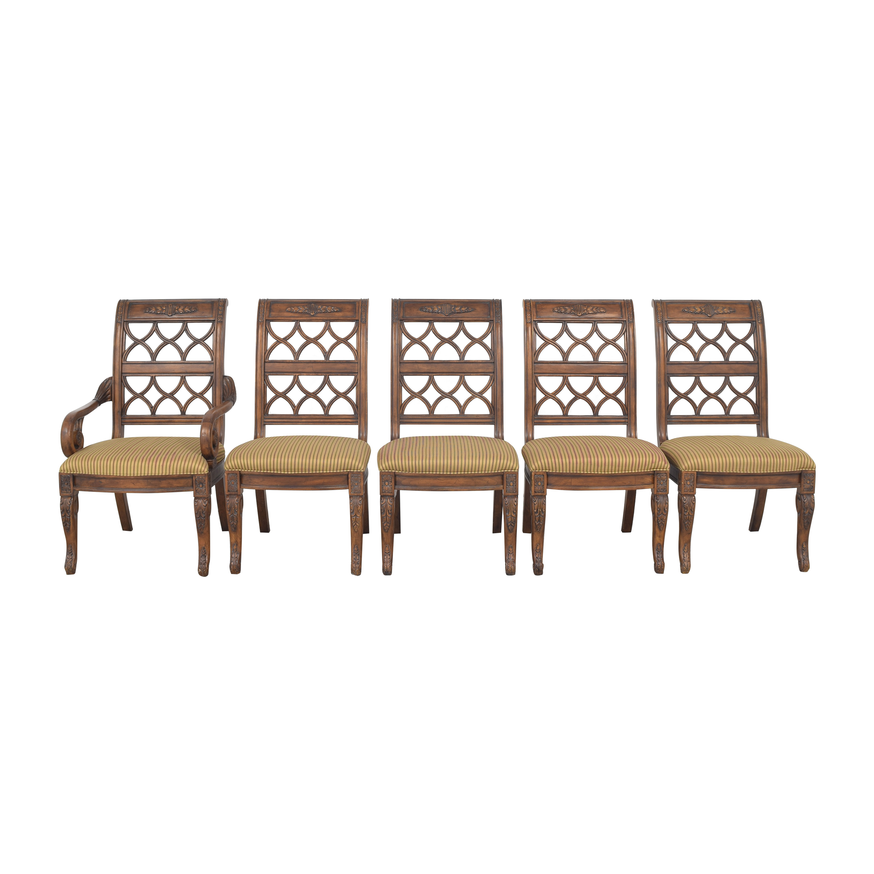 Drexel Heritage Upholstered Dining Chairs Drexel Heritage