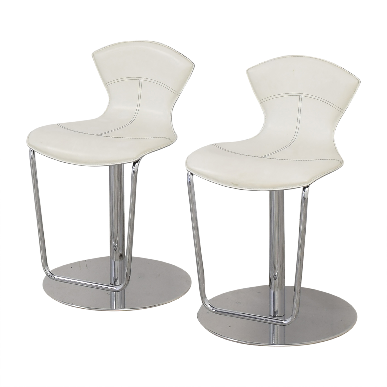 Maurice Villency Maurice Villency Adjustable Bar Stools Chairs