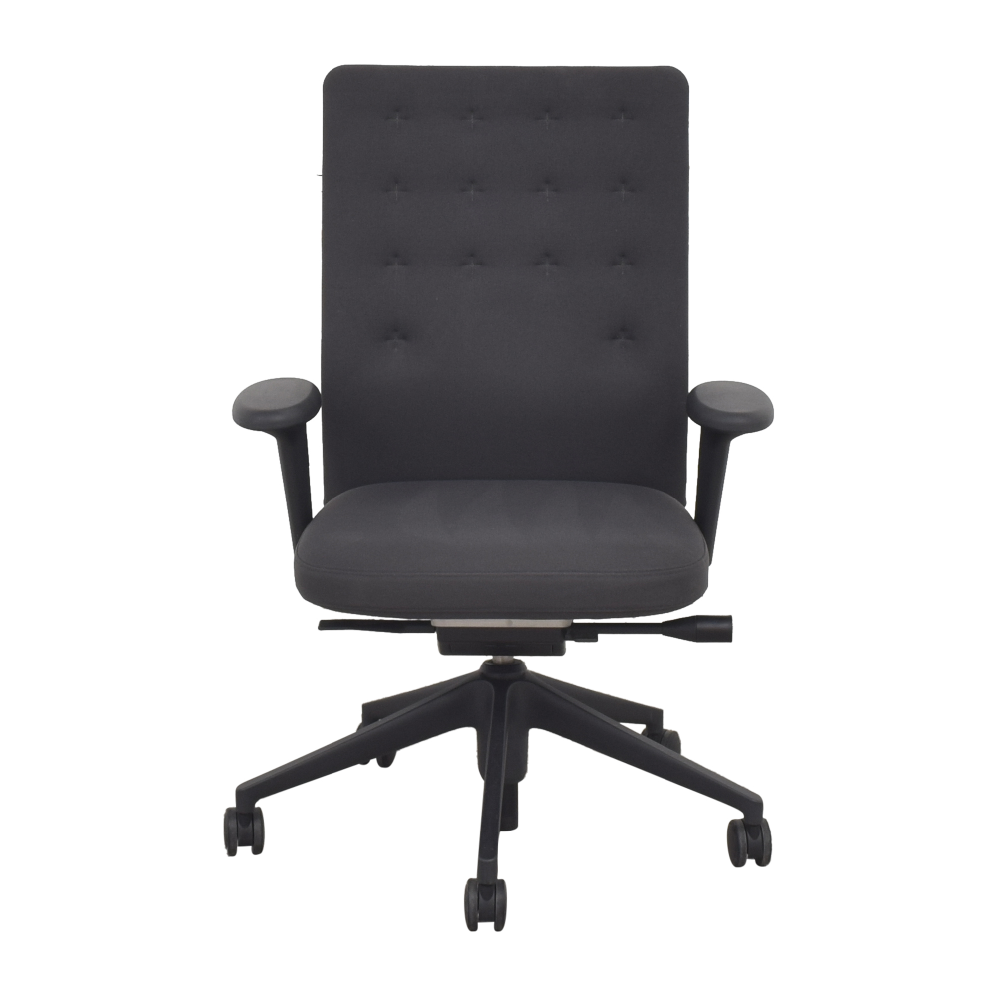 Vitra Vitra ID Trim Office Chair dark gray