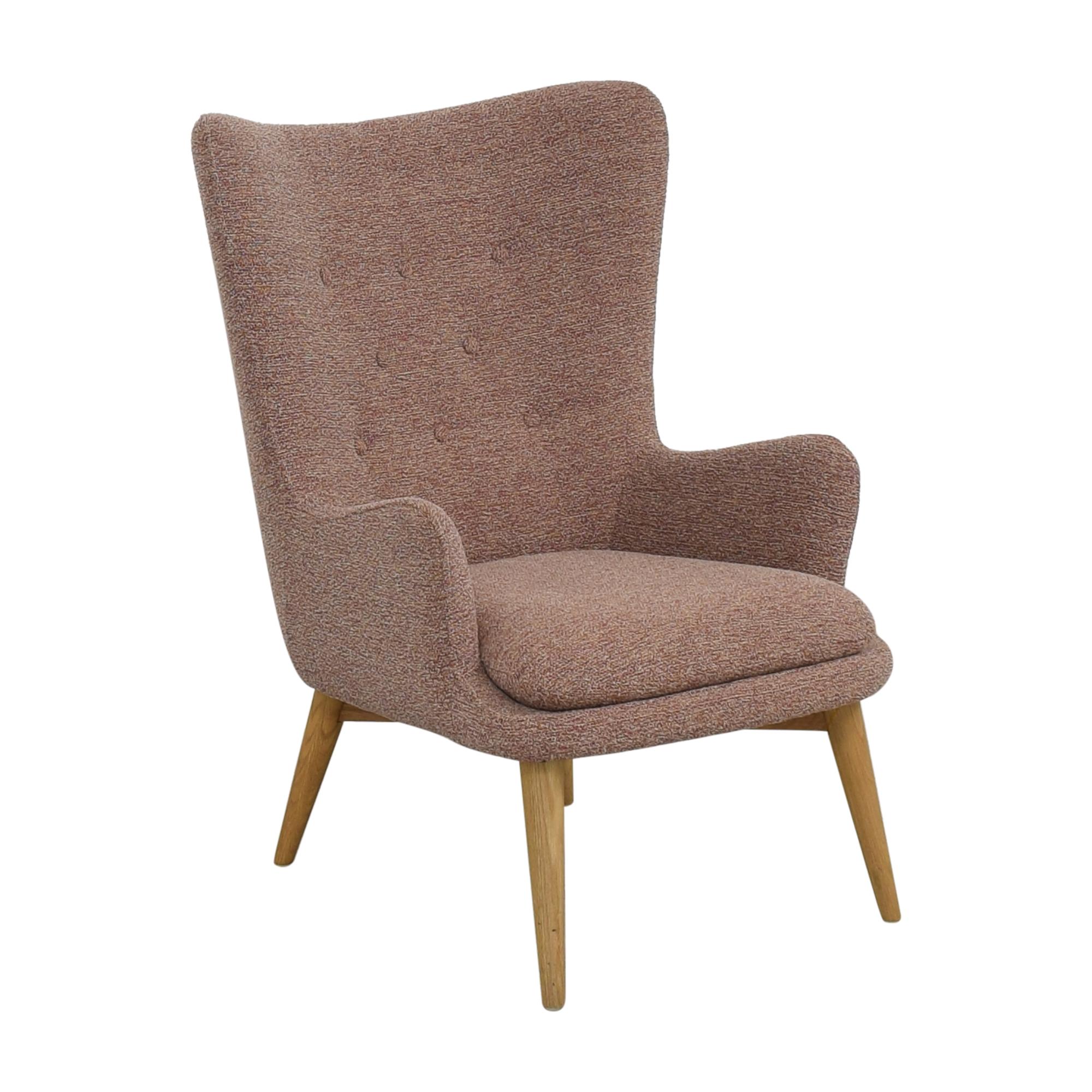 West Elm West Elm Niels Wing Chair used