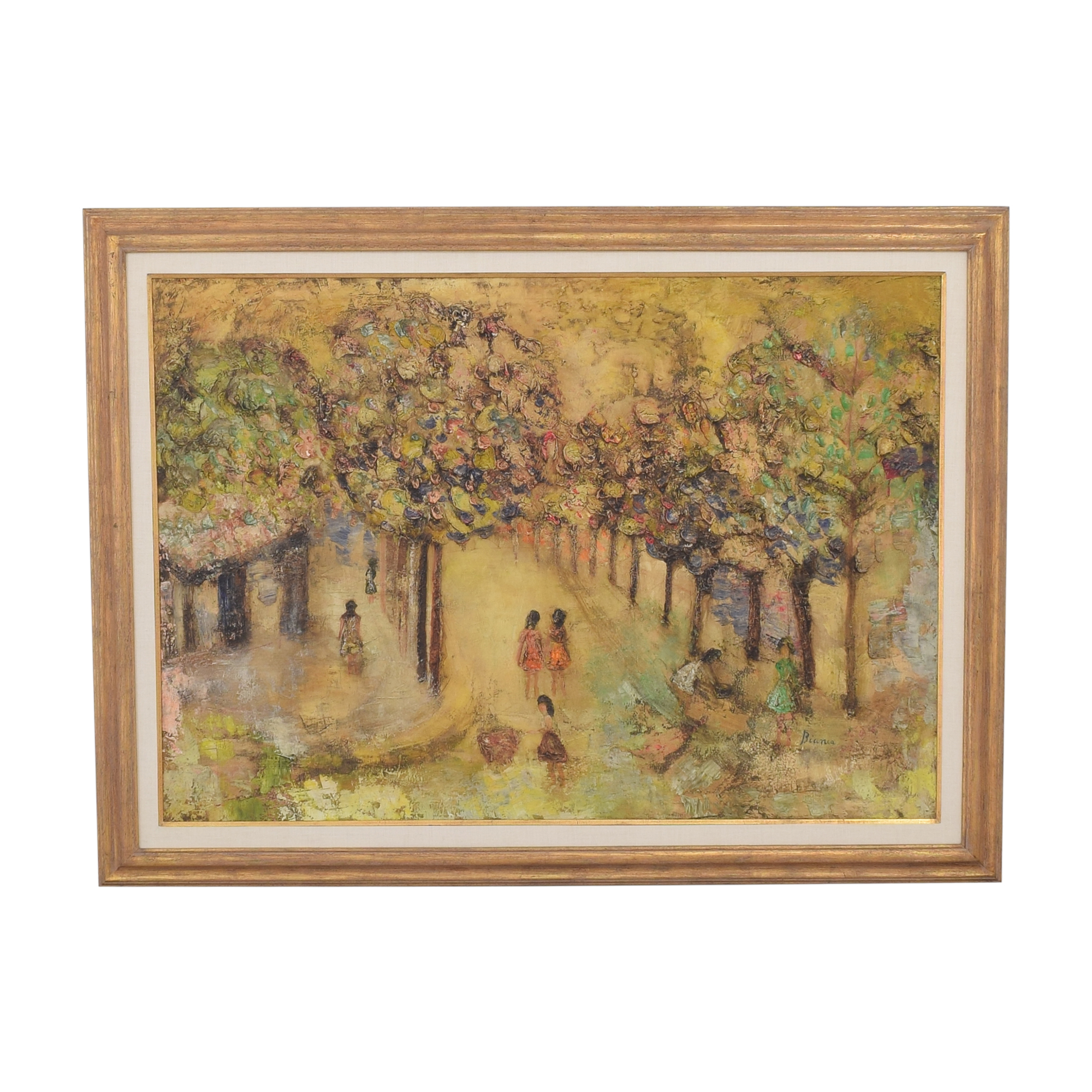 shop French Park Scene Wall Art