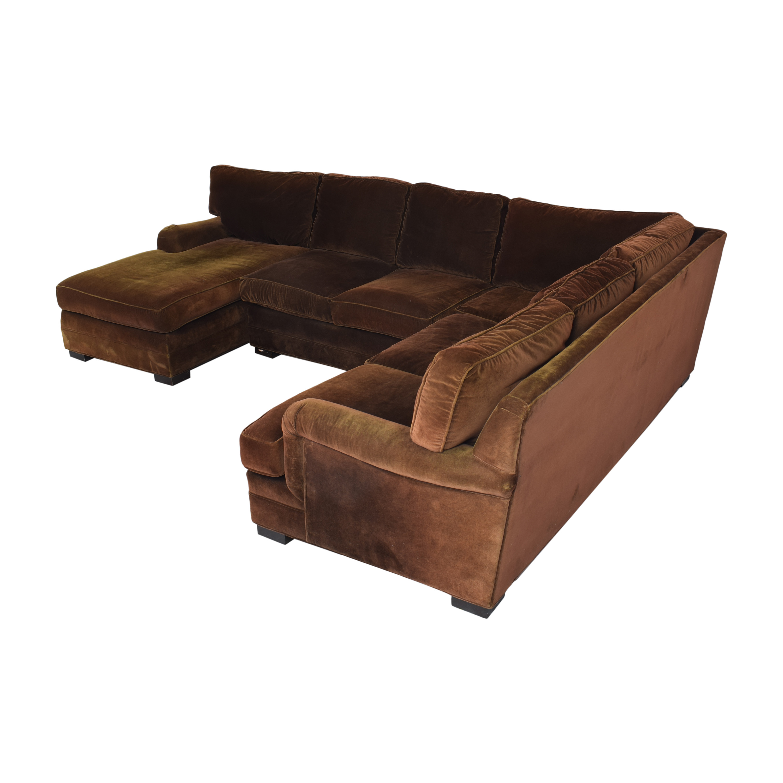 Mitchell Gold + Bob Williams Mitchell Gold + Bob Williams Chaise Sectional Sofa ma