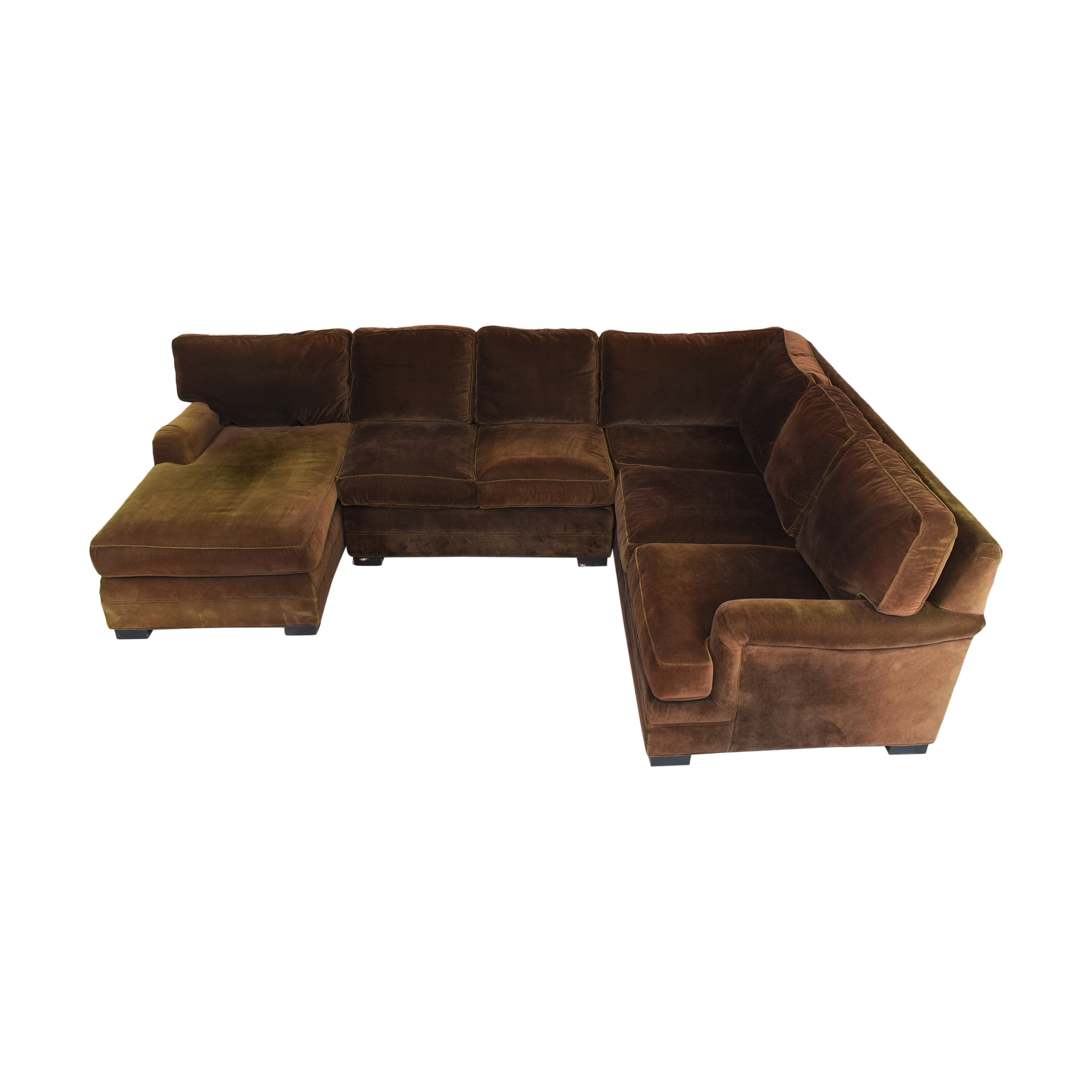 buy Mitchell Gold + Bob Williams Chaise Sectional Sofa Mitchell Gold + Bob Williams Sofas