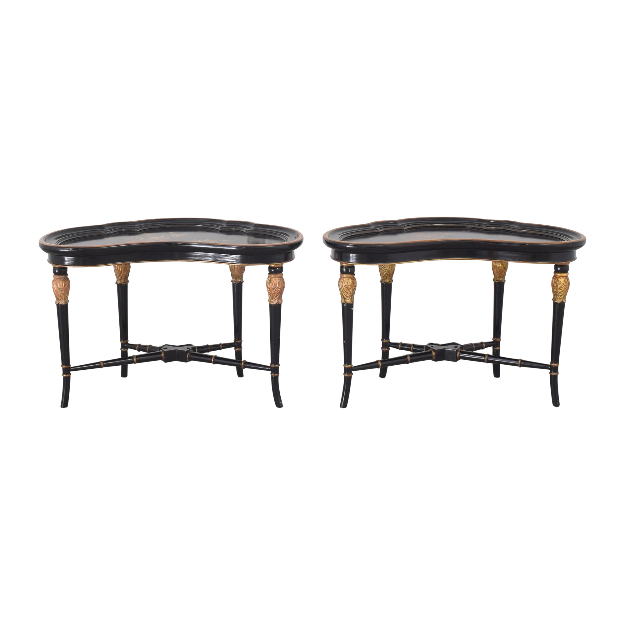 Maitland-Smith Maitland-Smith Hand Painted End Tables End Tables