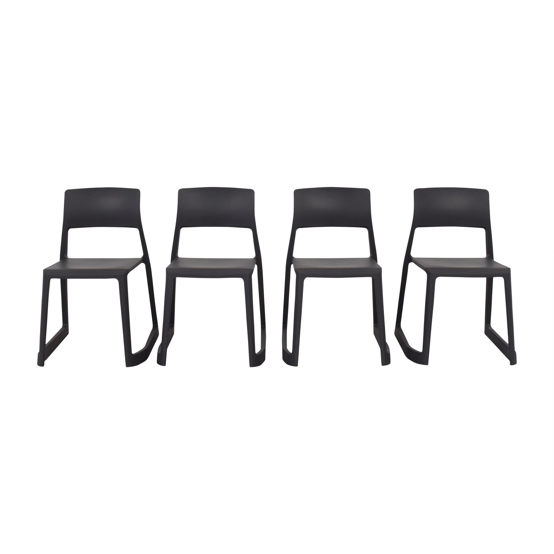 Vitra Vitra Tip Ton Chairs dark gray