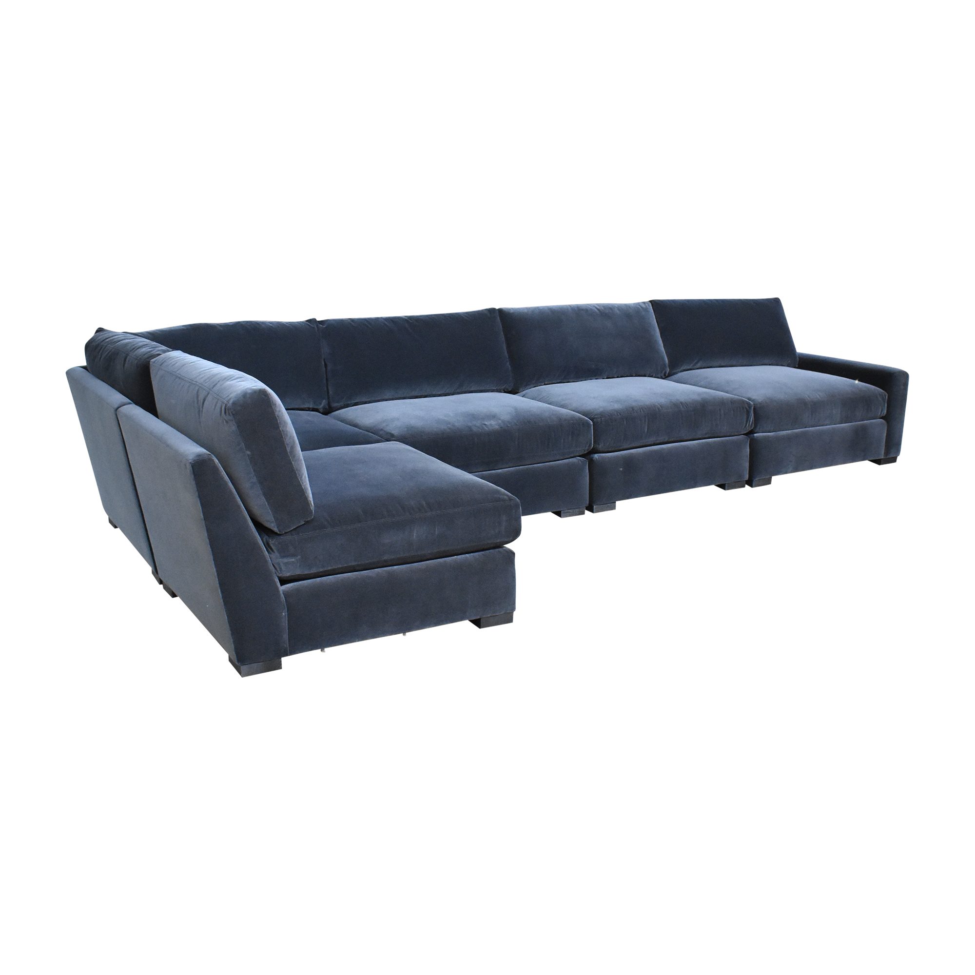 Restoration Hardware Restoration Hardware Maxwell L Shaped Sectional Sofa second hand