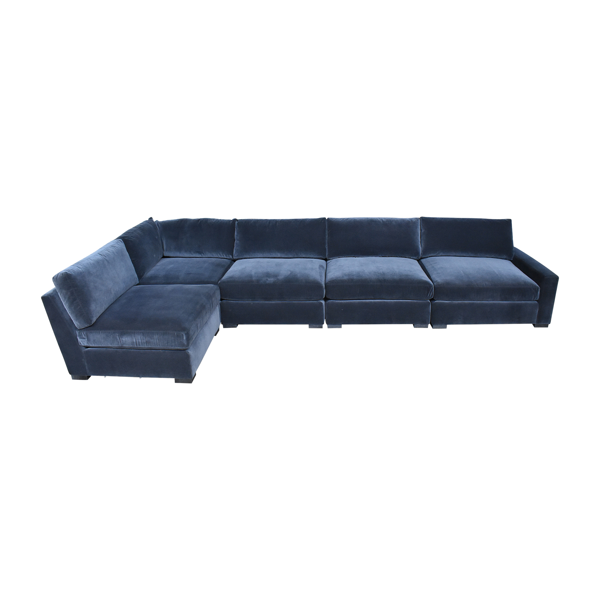 buy Restoration Hardware Restoration Hardware Maxwell L Shaped Sectional Sofa online