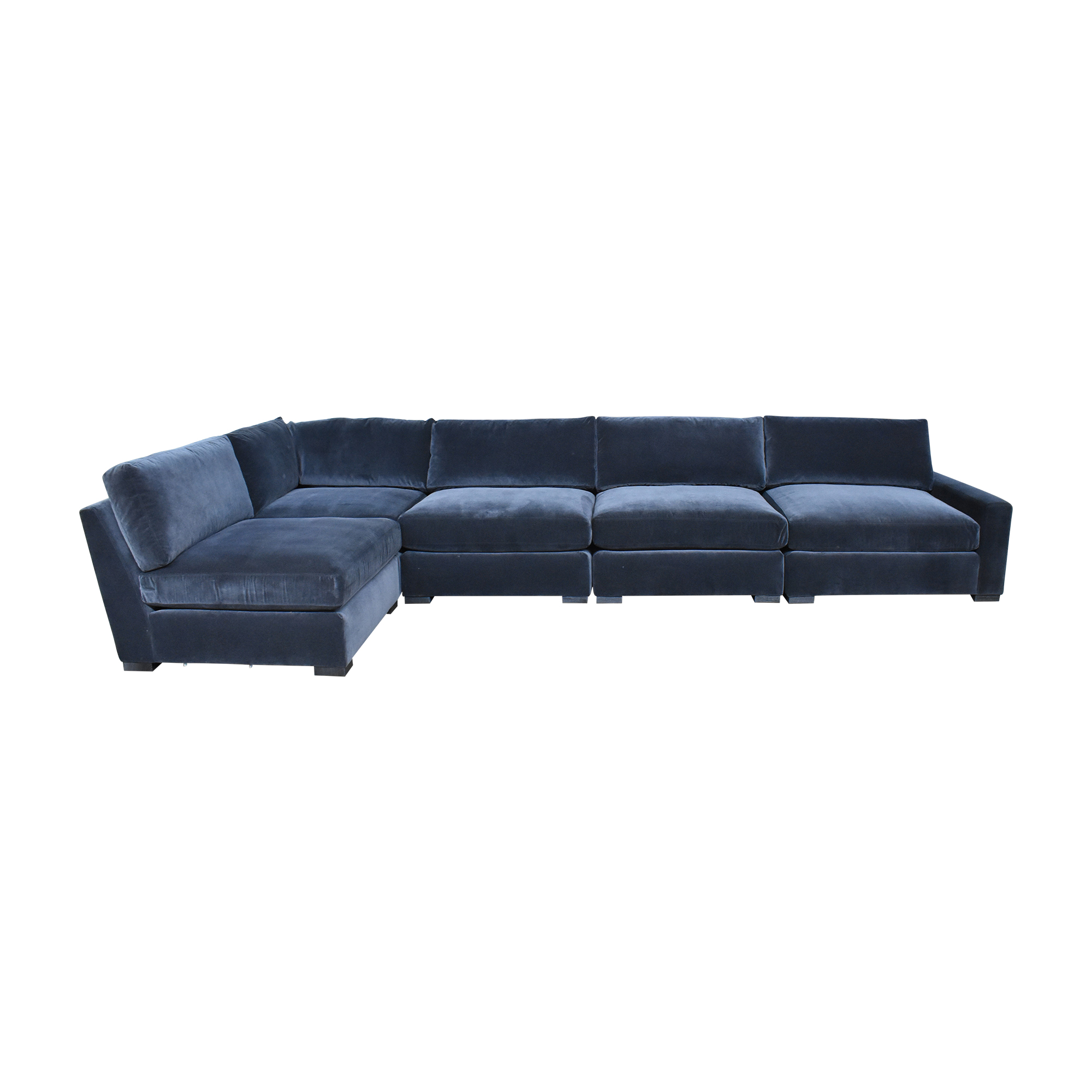 shop Restoration Hardware Maxwell L Shaped Sectional Sofa Restoration Hardware Sectionals