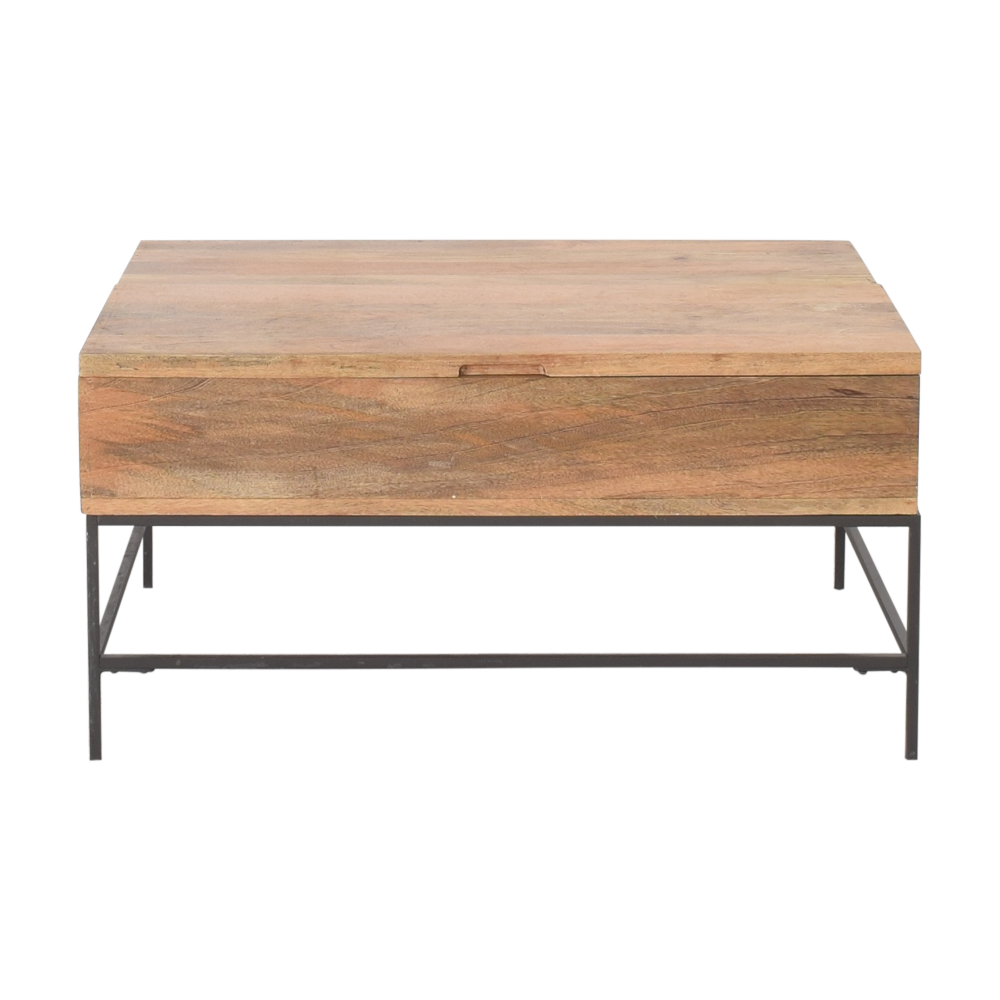 West Elm Industrial Storage Pop-Up Coffee Table / Tables