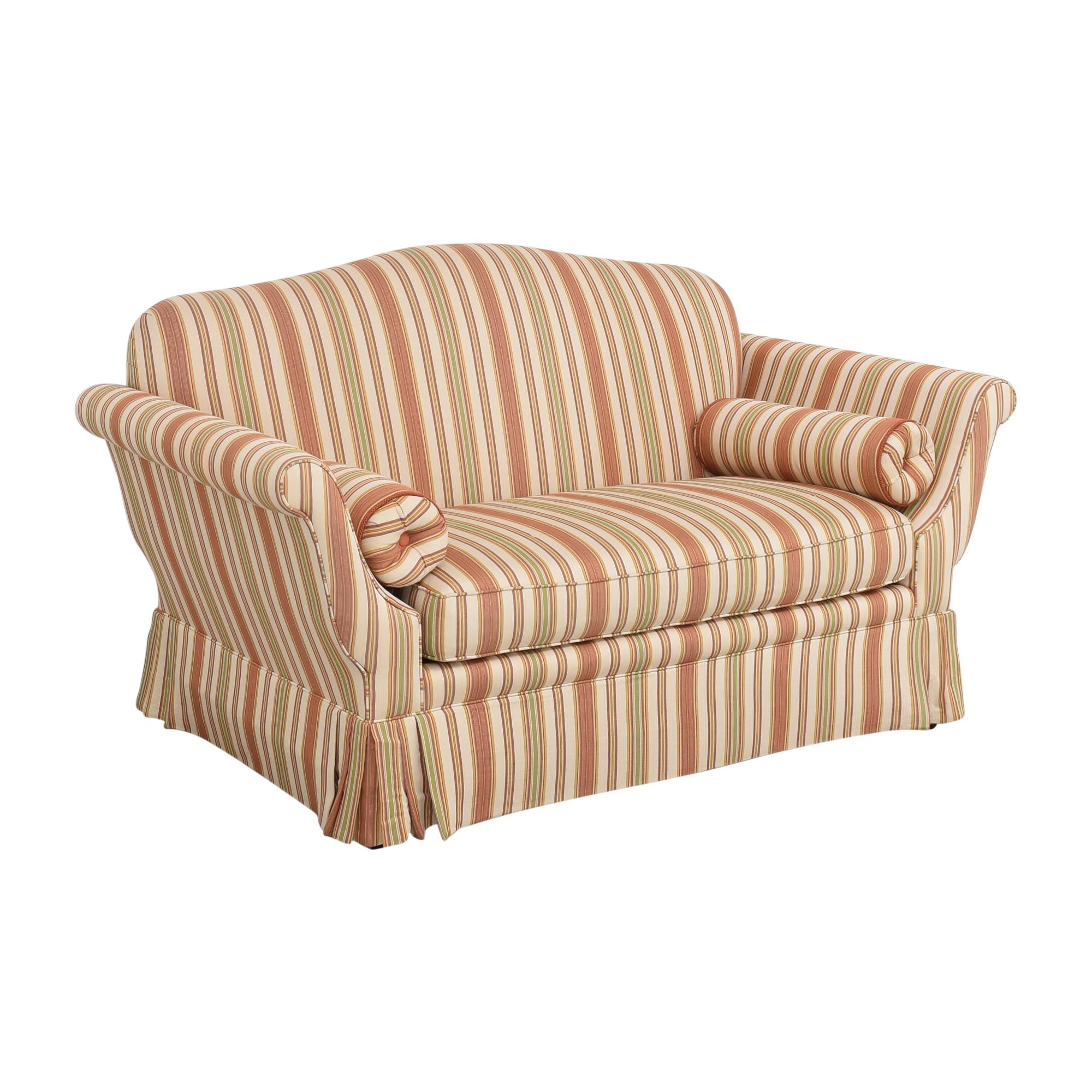 Taylor King Taylor King Camelback Bench Cushion Sofa for sale