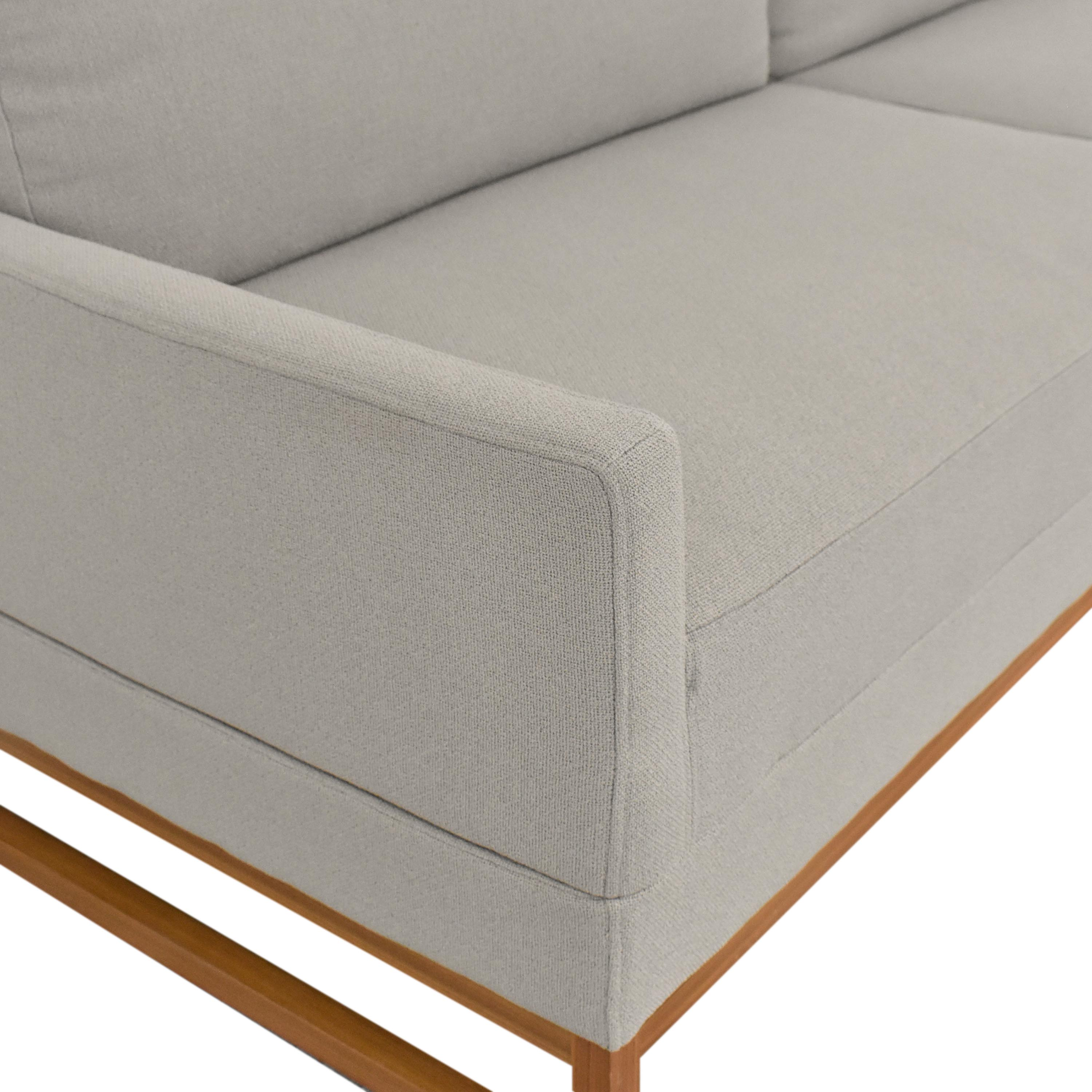Blu Dot Blu Dot Diplomat Sleeper Sofa for sale
