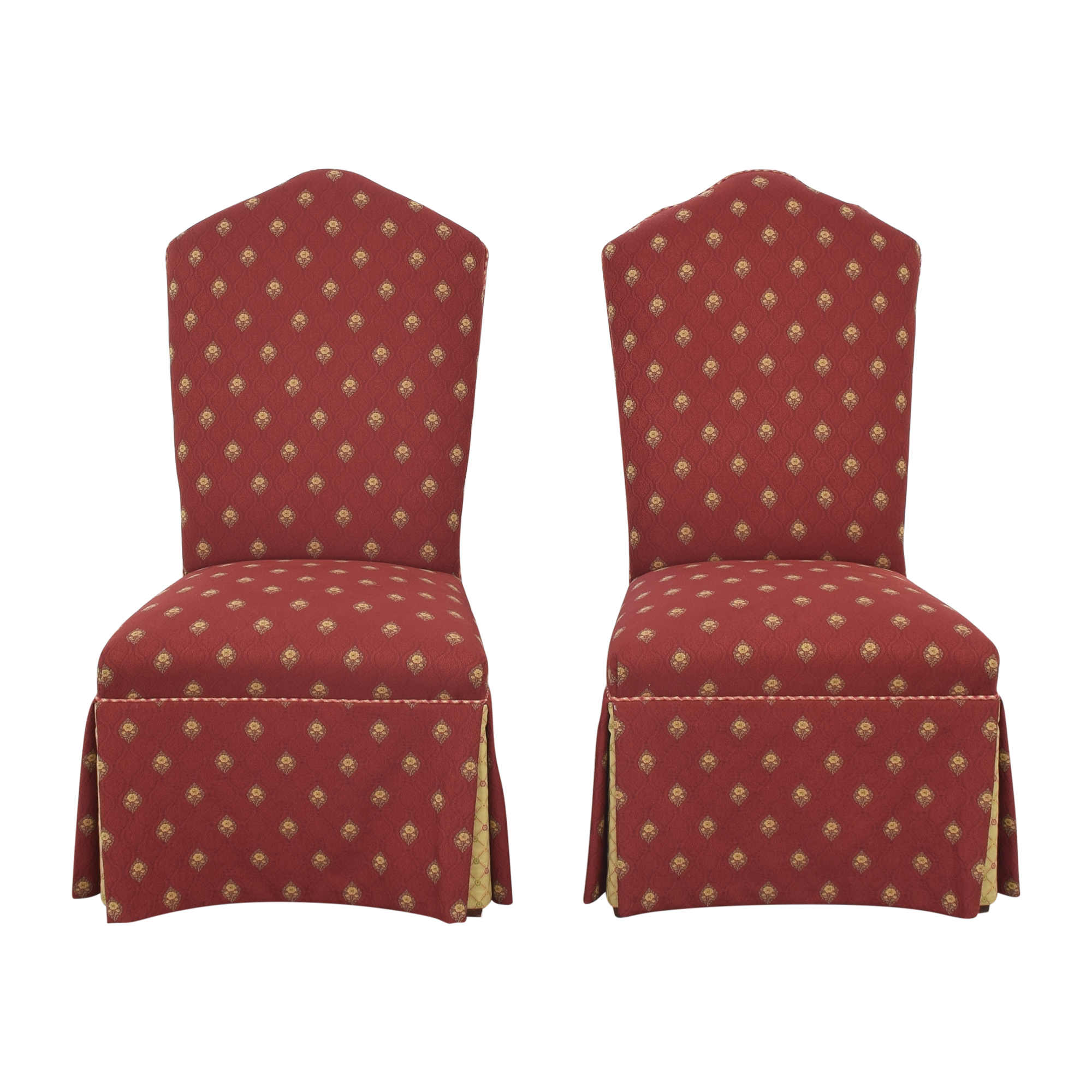 Cox Manufacturing Cox Skirted Dining Chairs on sale