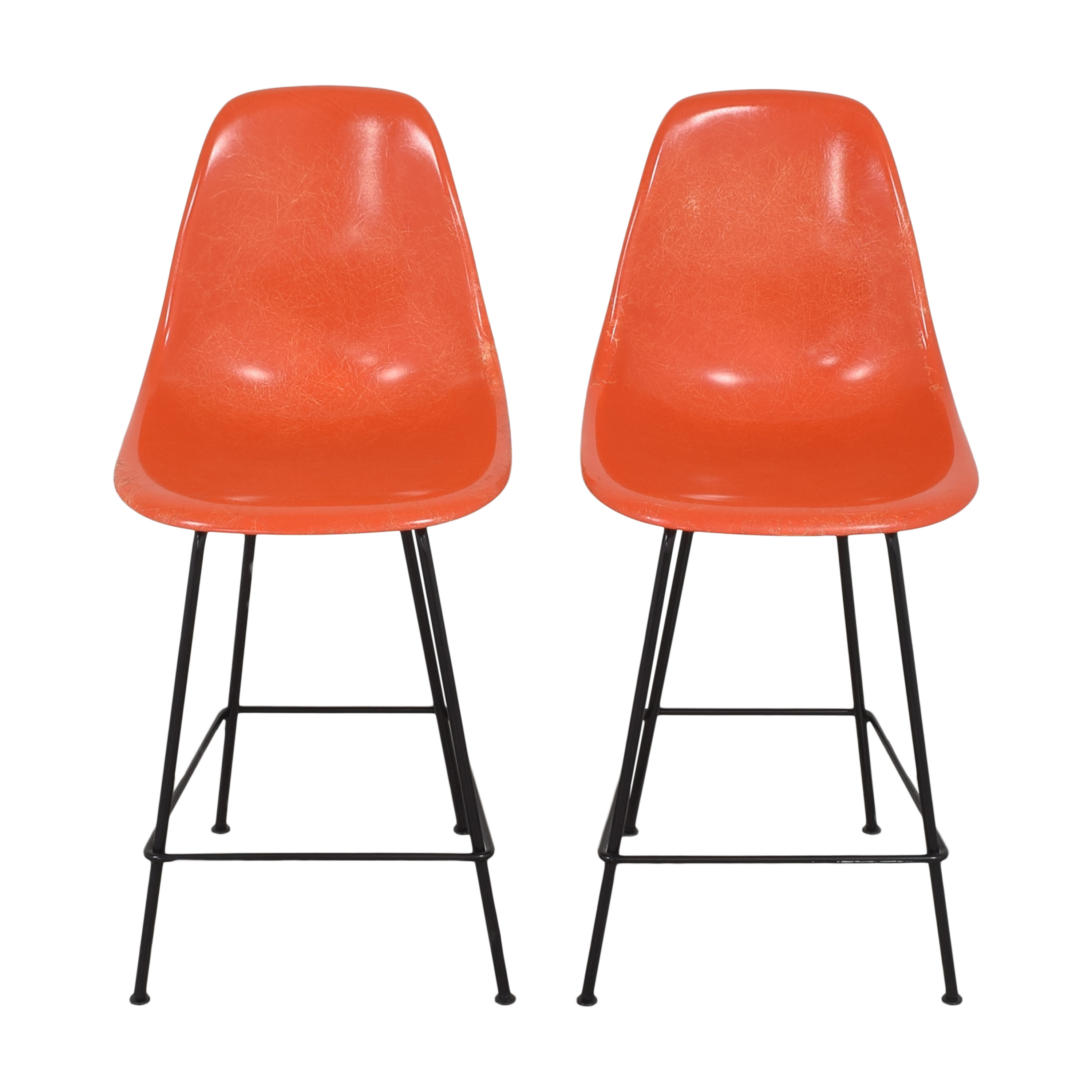 buy Herman Miller Eames Molded Counter Stools Herman Miller Dining Chairs