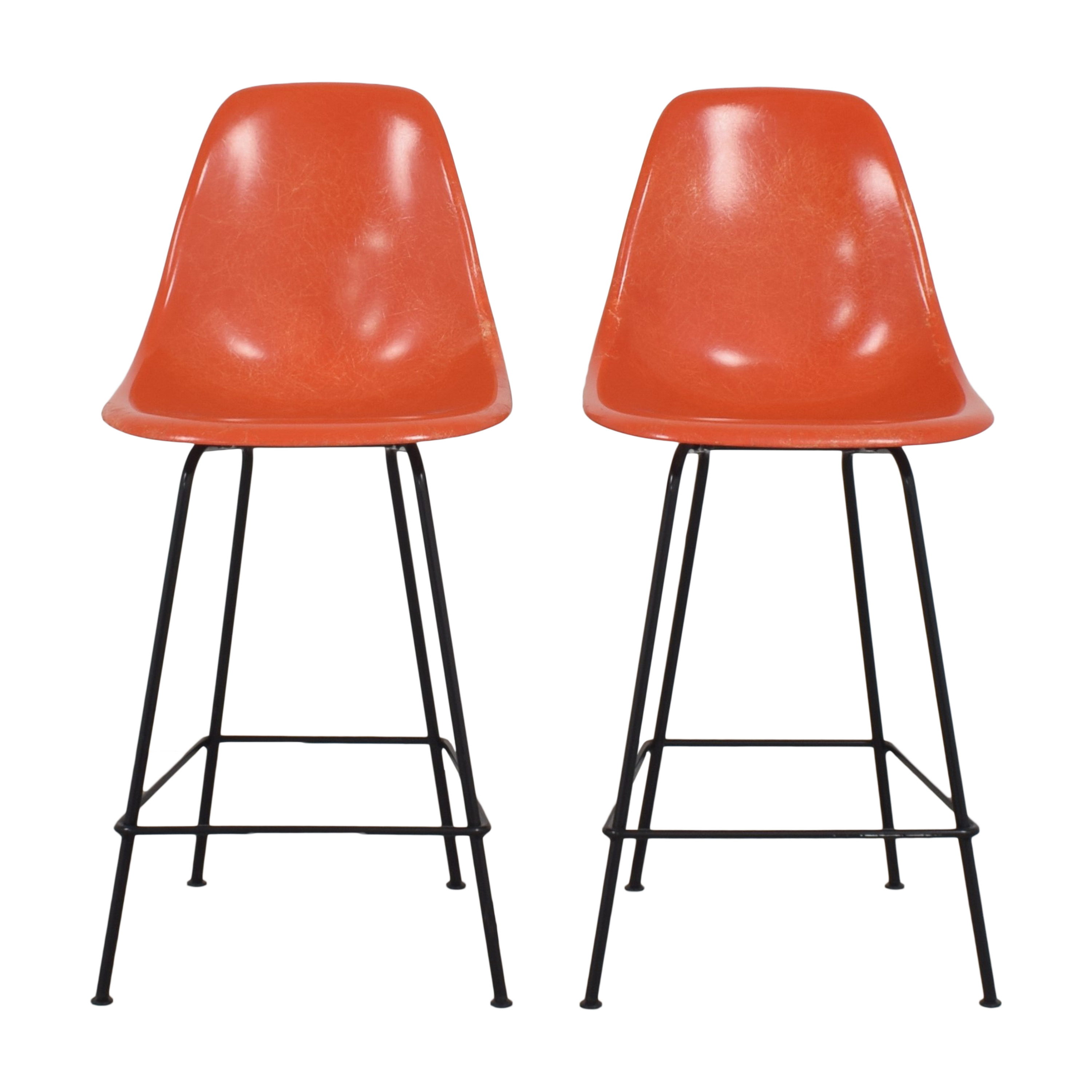 Herman Miller Herman Miller Eames Molded Counter Stools used