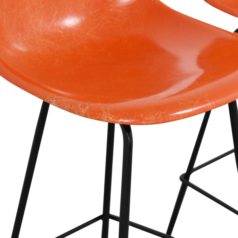 Herman Miller Herman Miller Eames Molded Counter Stools nyc