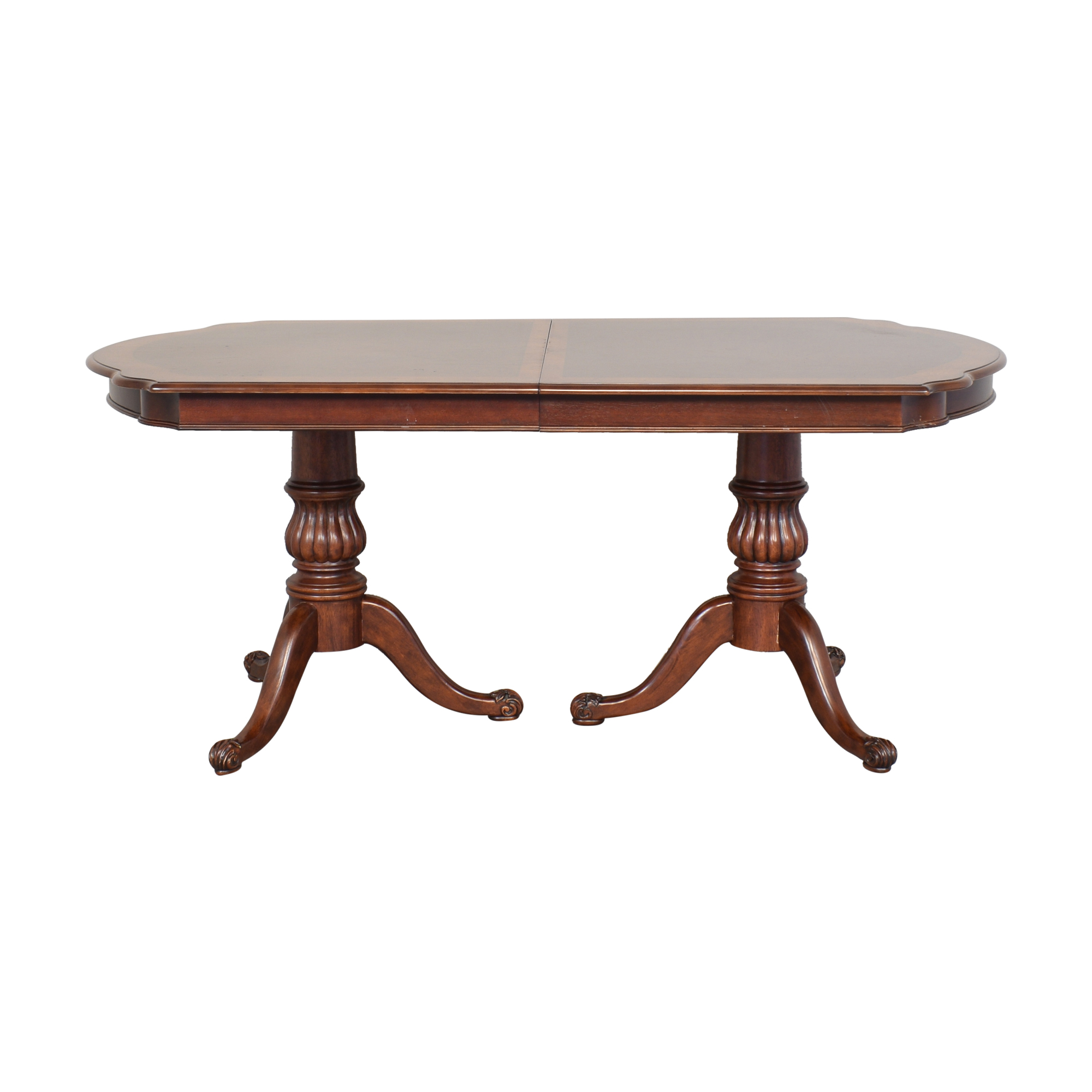 buy Double Pedestal Dining Table