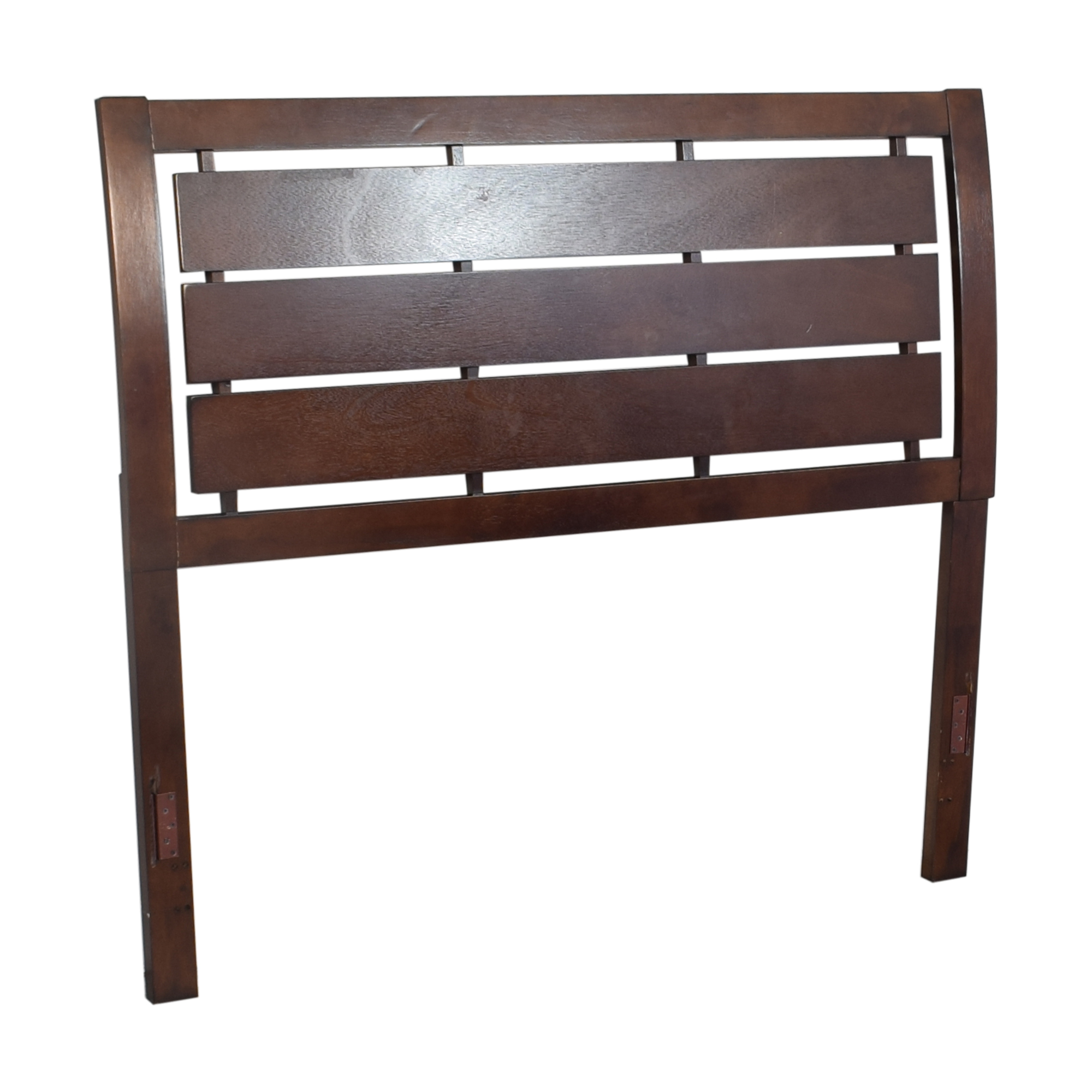Wayfair Wayfair Full Slat Headboard dark brown