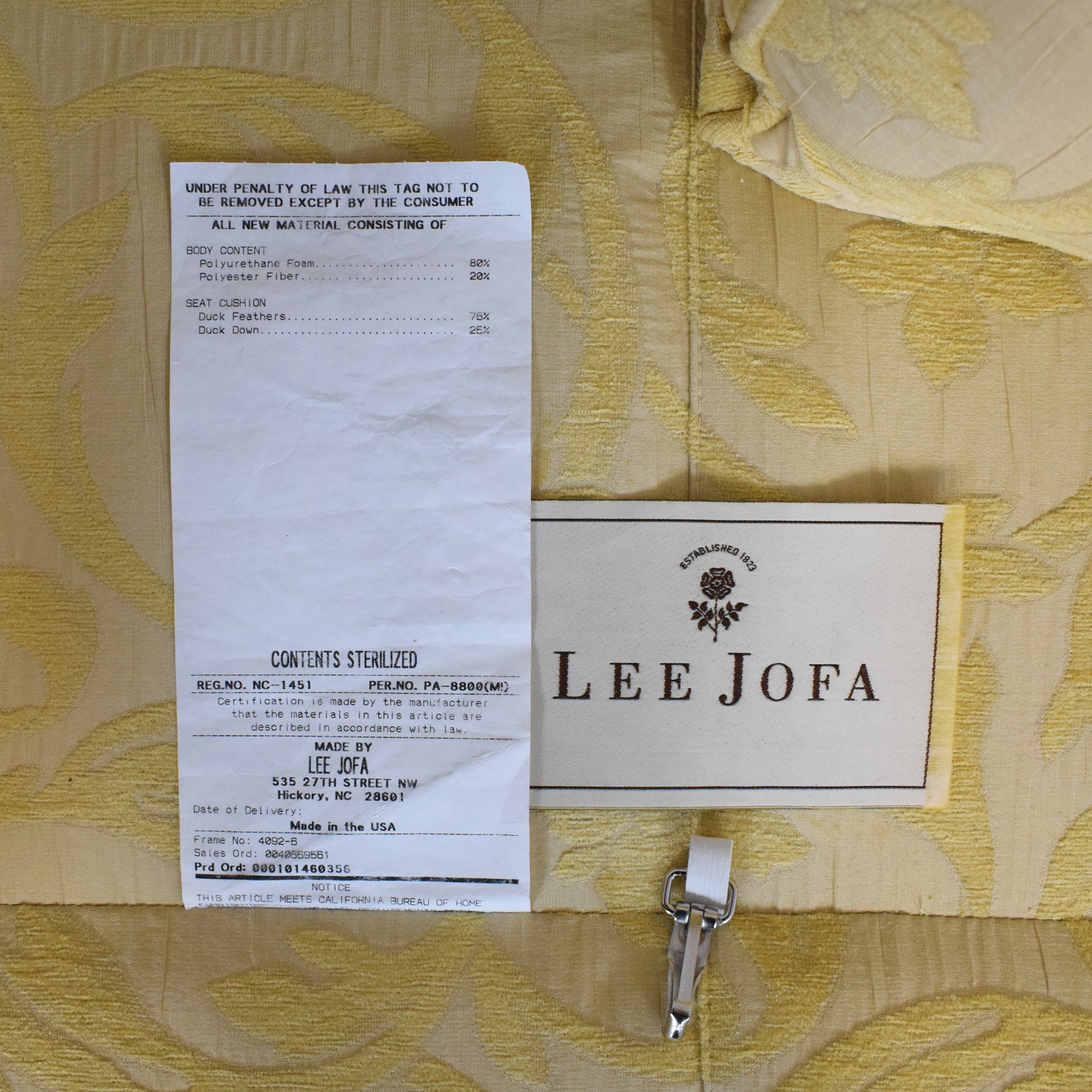 Lee Jofa Lee Jofa Two Cushion Sofa coupon
